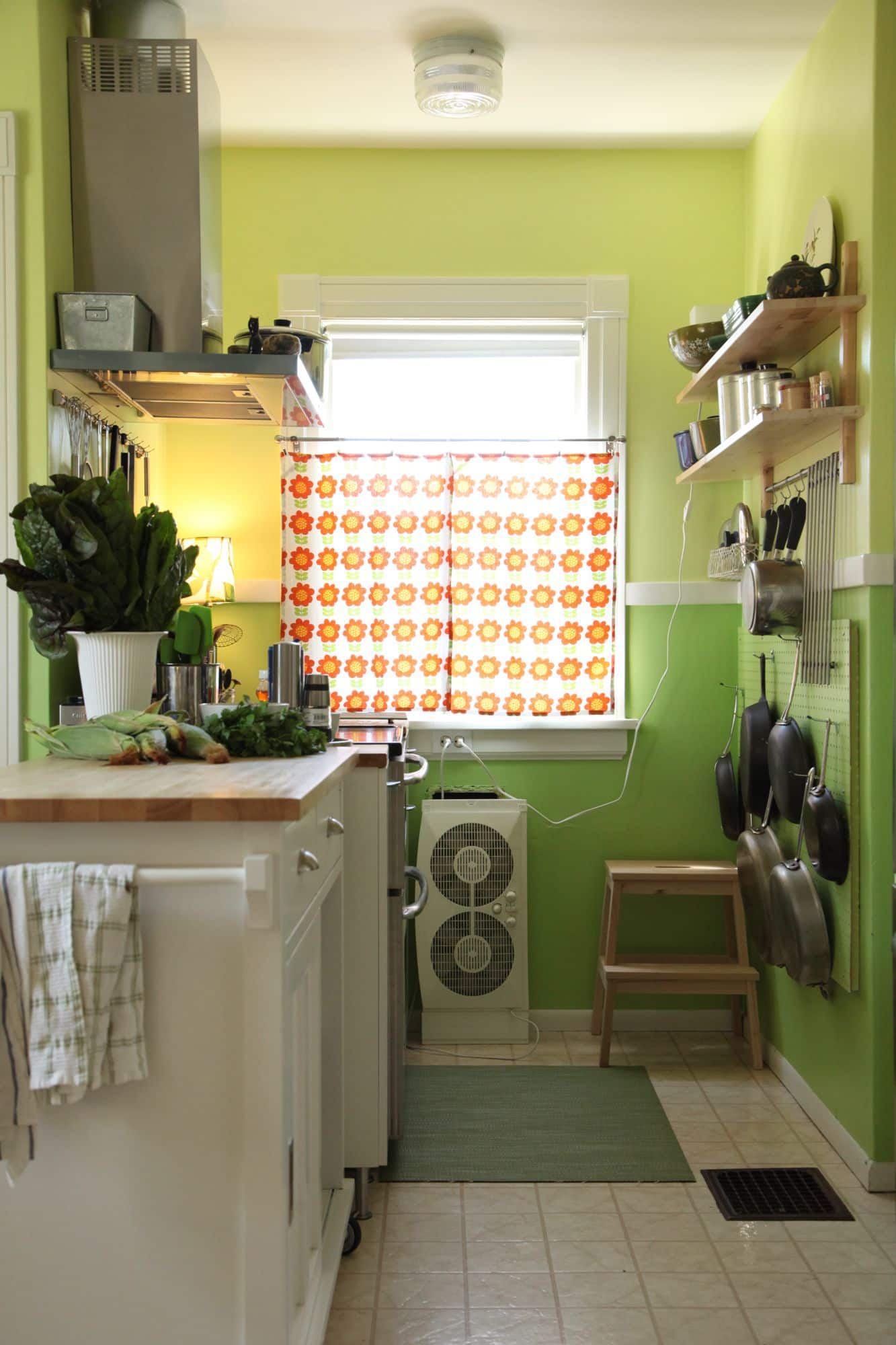 Mari & Adam's Colorful Craftsman Kitchen: gallery image 2