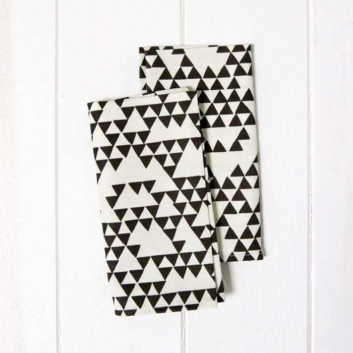 For a Little Flash: Geometric & Patterned Napkins from A Sunny Afternoon: gallery image 7