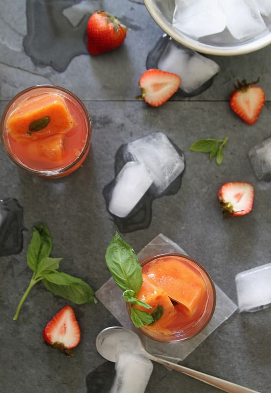Watermelon, Nectarine, & Fruity Stripes: 8 Fun Flavored Ice Cubes: gallery image 6