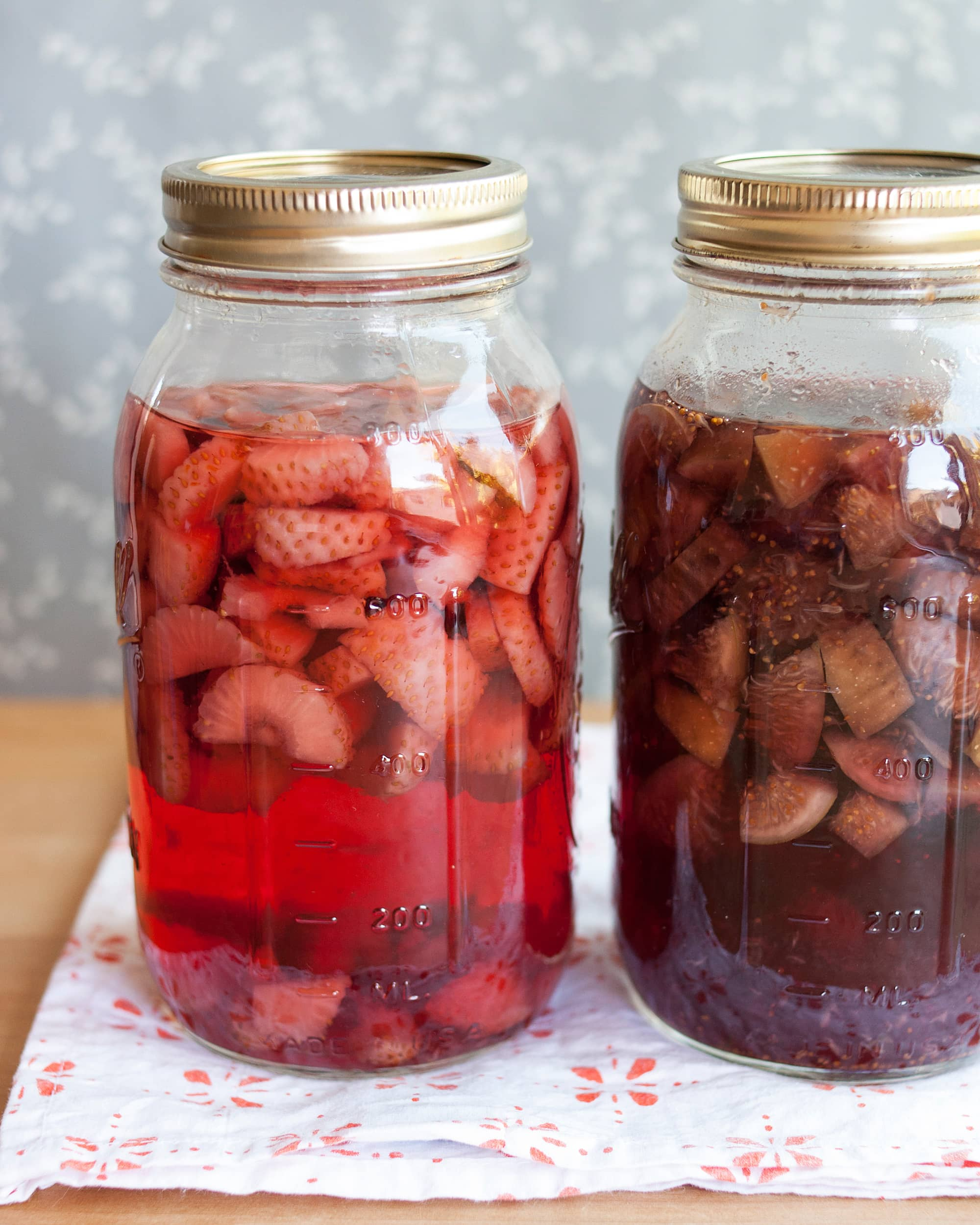 How To Make Fruit-Infused Vodkas