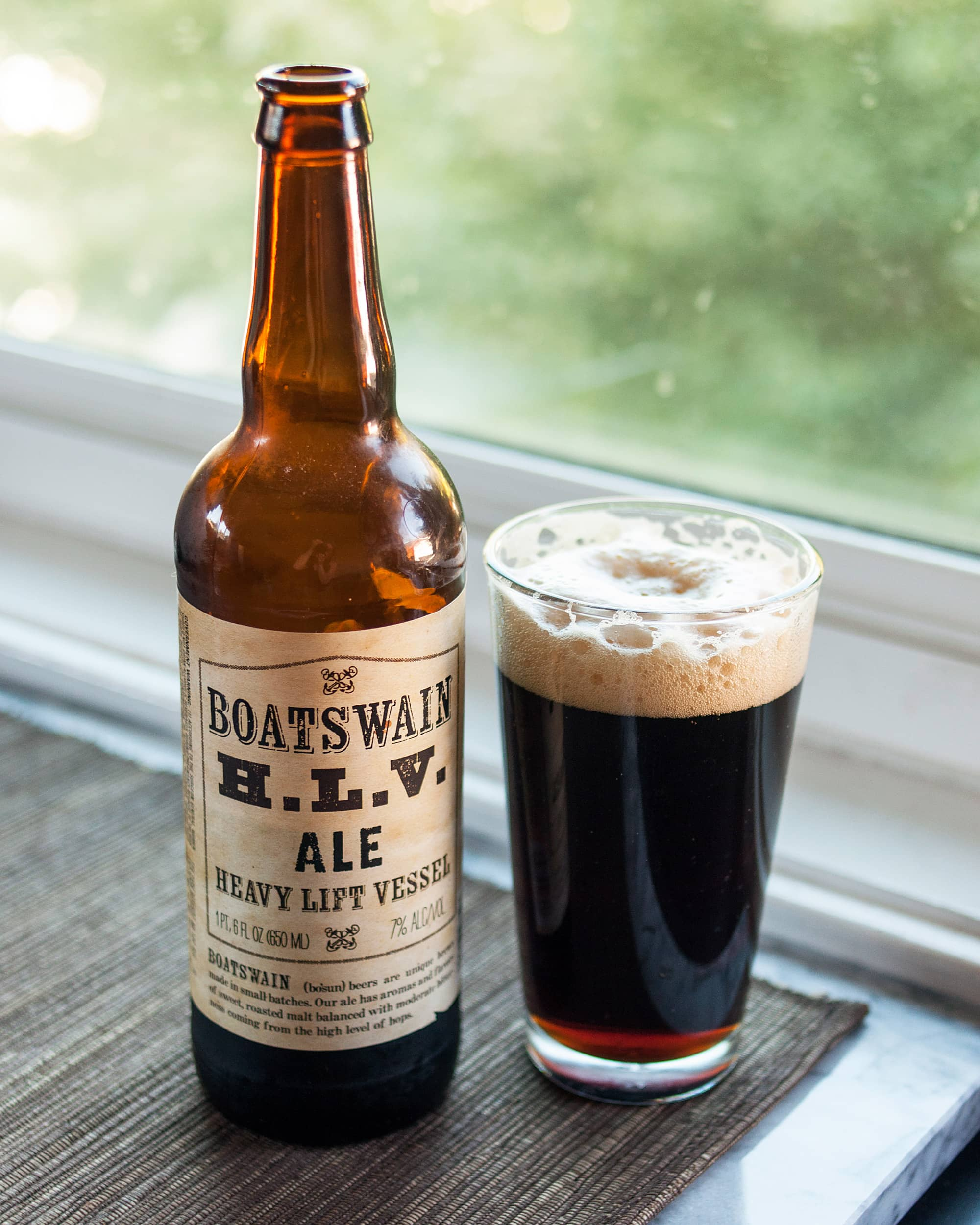Beer Review: Boatswain HLV from Minhas Craft Brewery