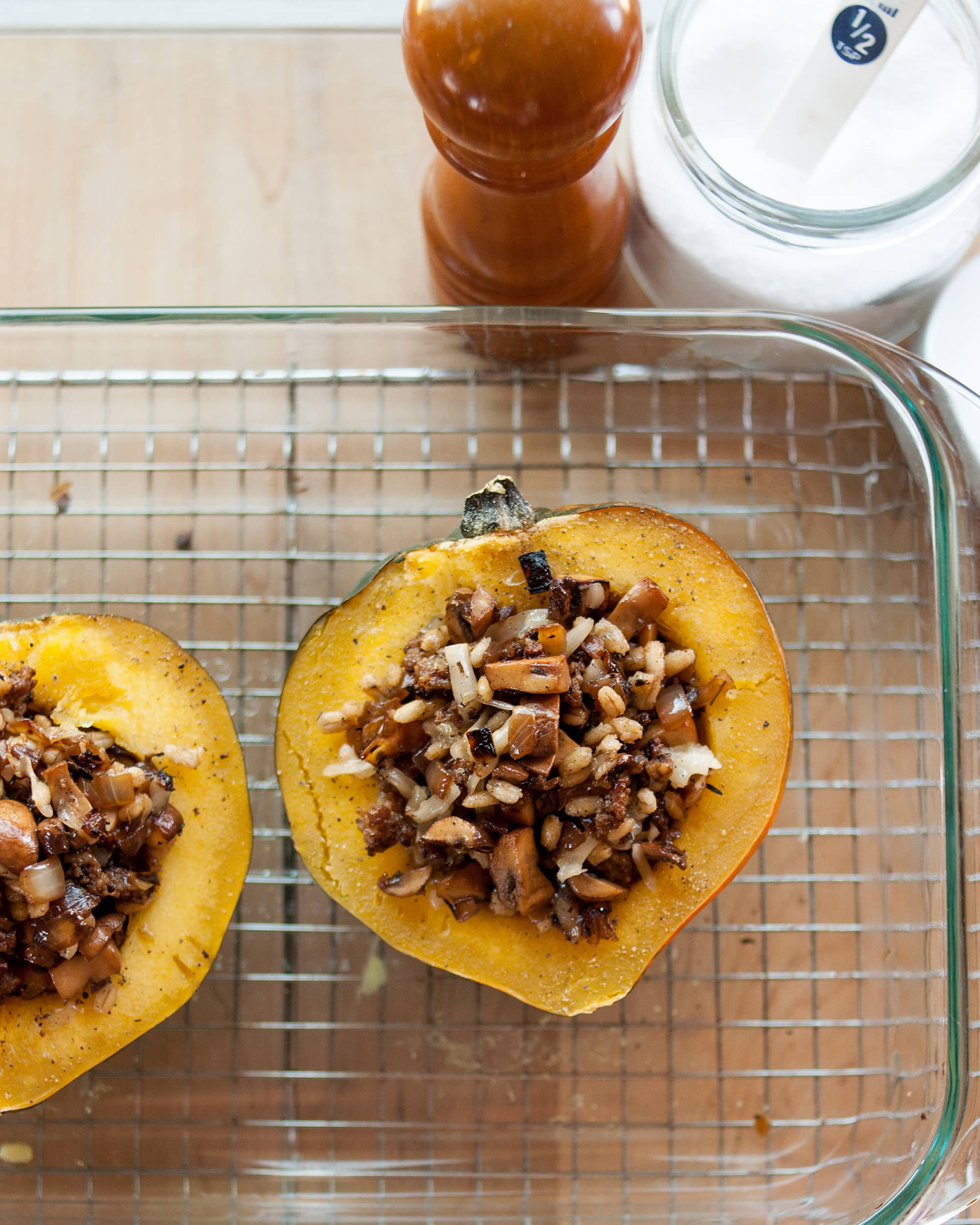 How To Make Stuffed Roast Squash: gallery image 7