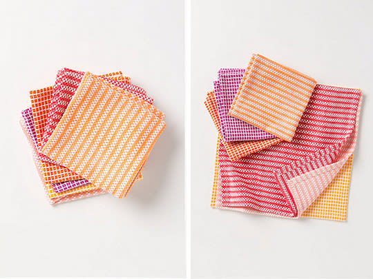 Fun and Pretty: Waffle Dishcloths from Anthropologie: gallery image 3