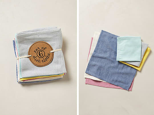 Fun and Pretty: Waffle Dishcloths from Anthropologie: gallery image 1