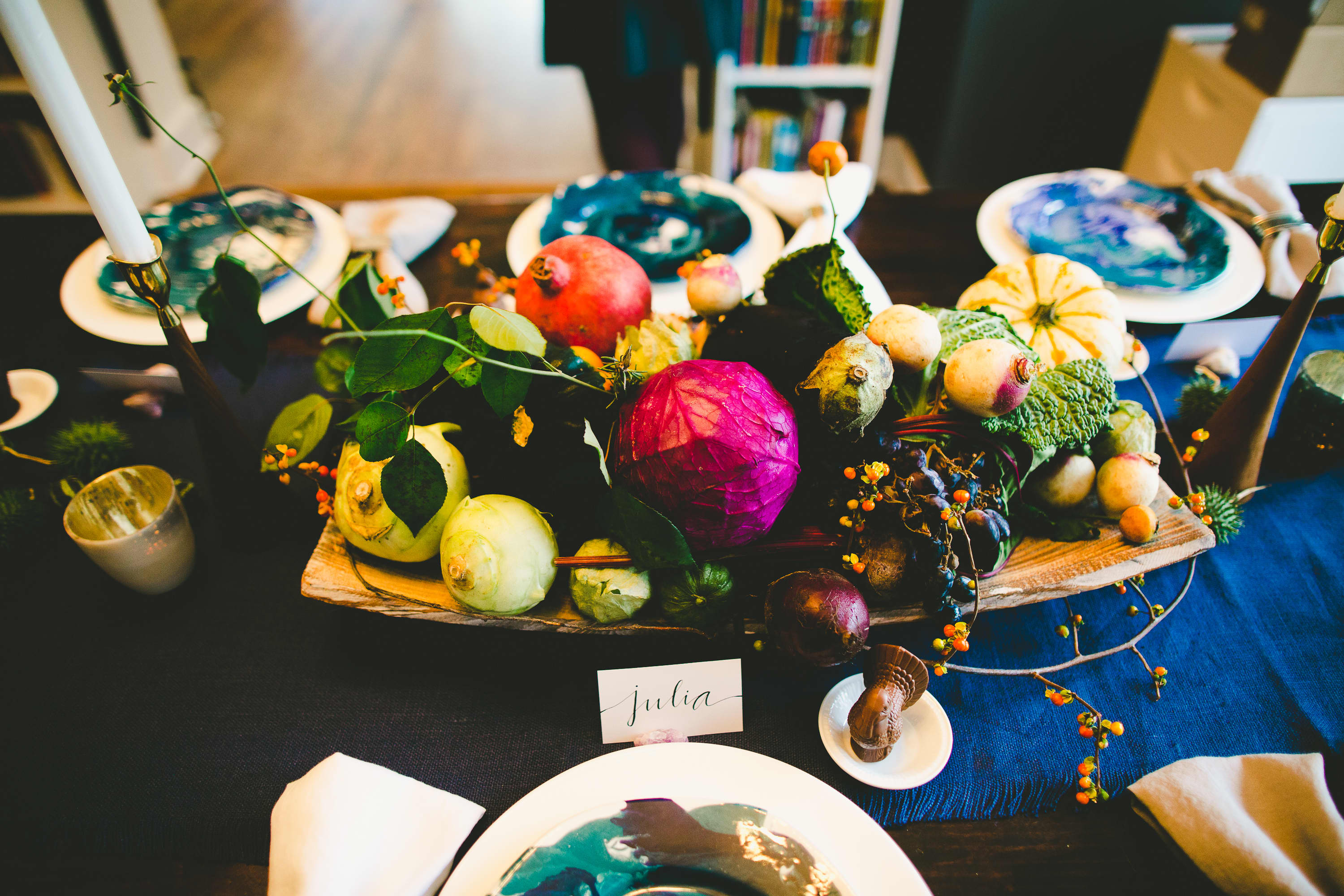 How I Set a Swanky Thanksgiving Table: And 5 Tips for Decorating on a Budget: gallery image 6