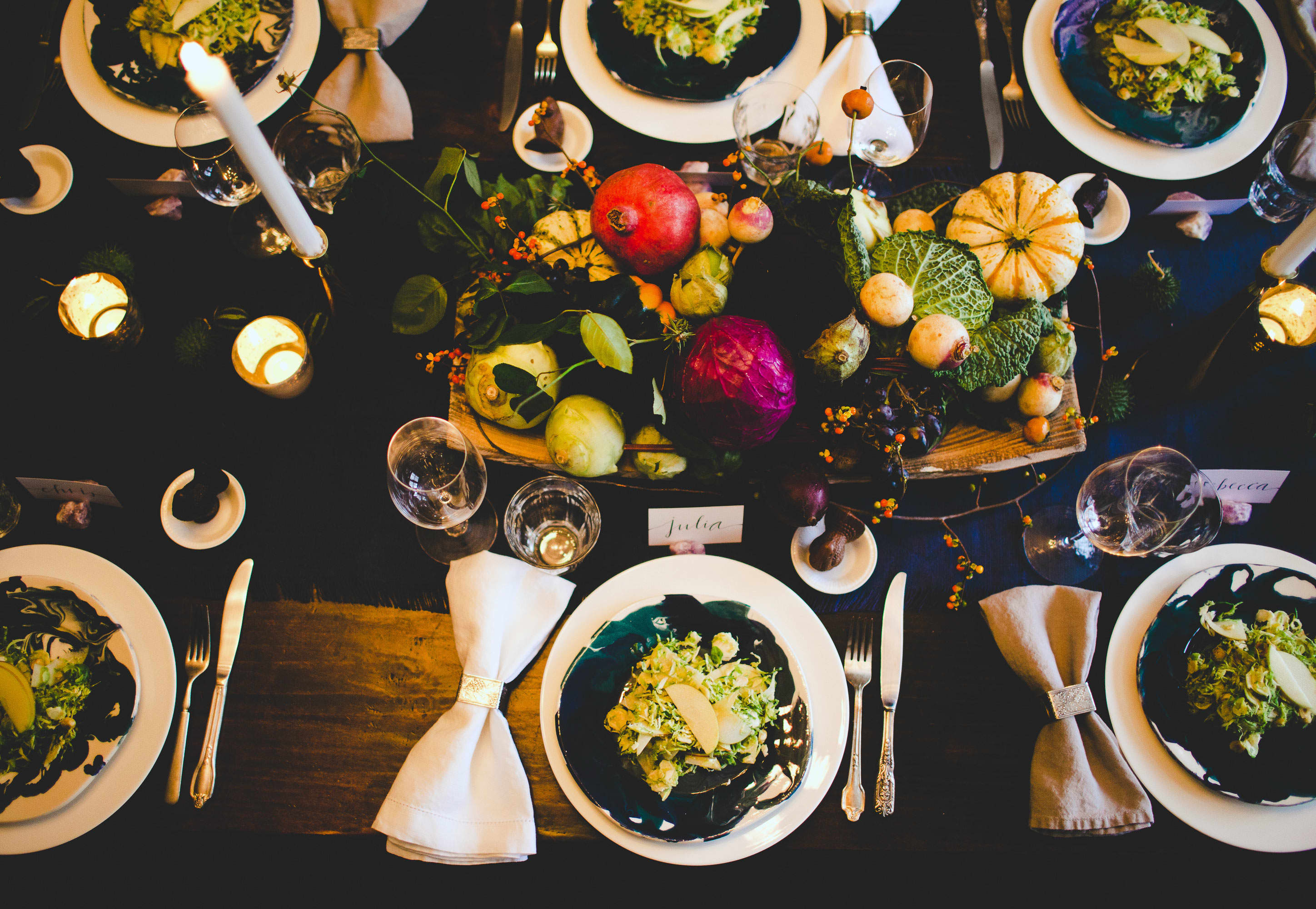 How To Make a Modern Harvest Centerpiece for Thanksgiving: gallery image 19