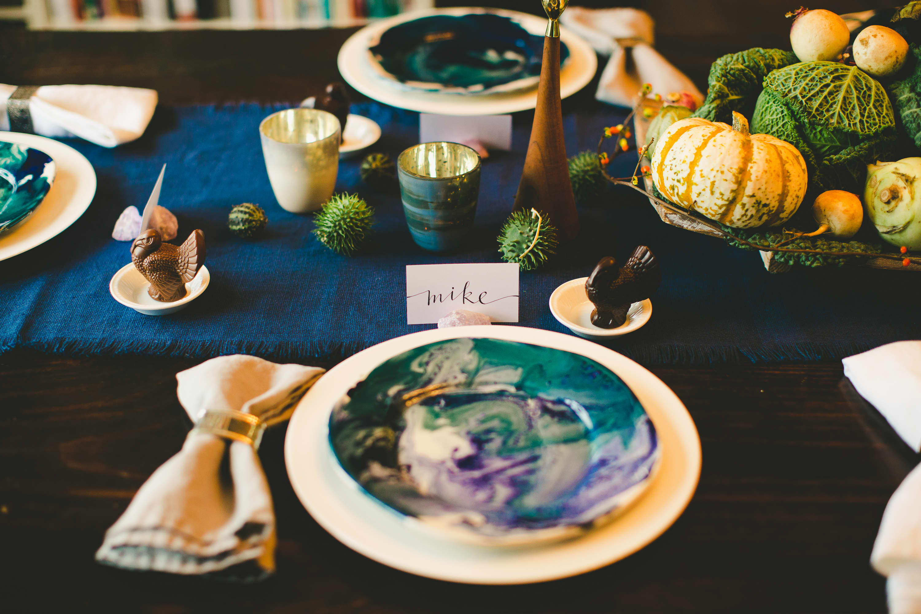 How I Set a Swanky Thanksgiving Table: And 5 Tips for Decorating on a Budget: gallery image 14