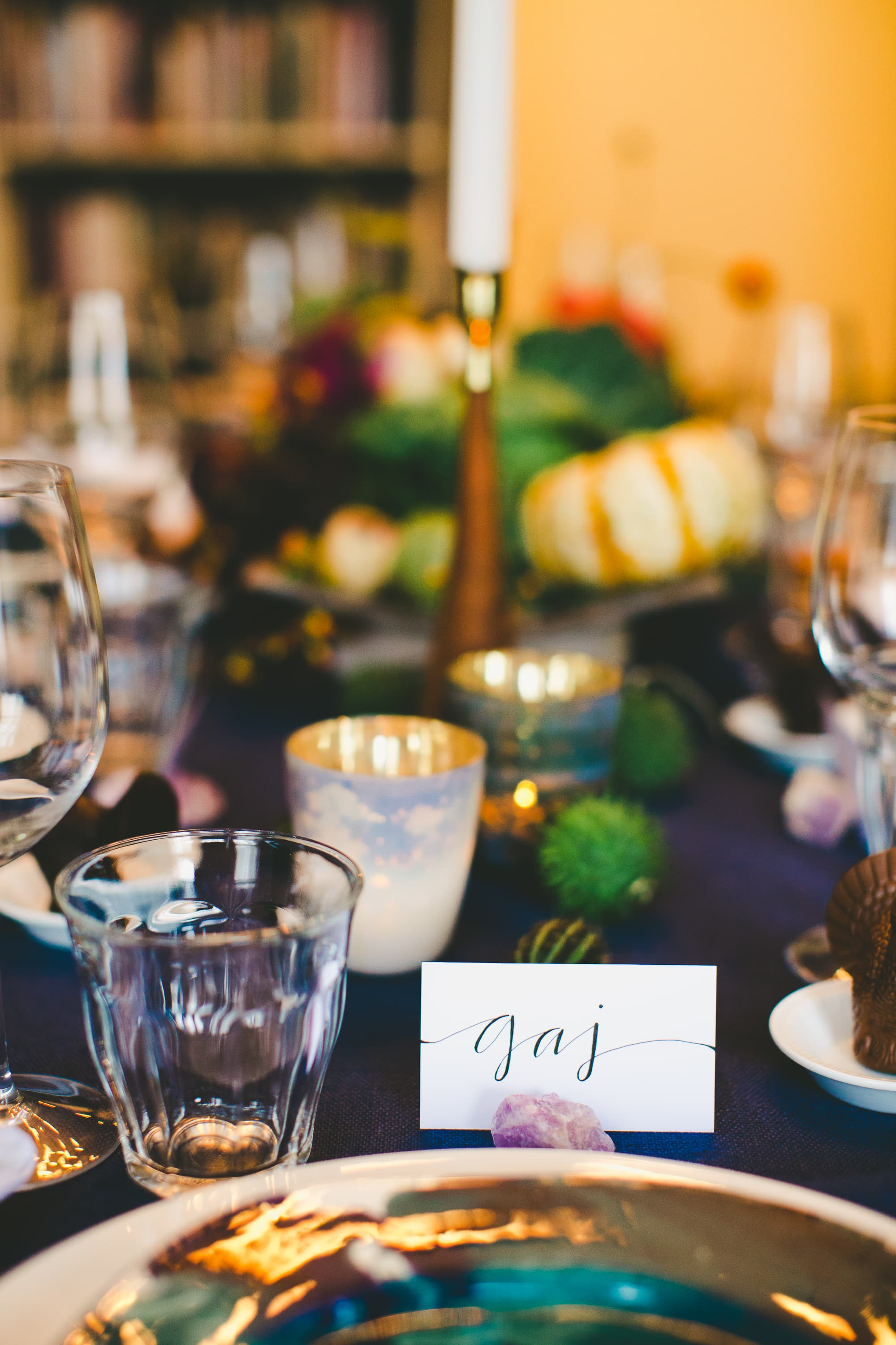 How I Set a Swanky Thanksgiving Table: And 5 Tips for Decorating on a Budget: gallery image 20