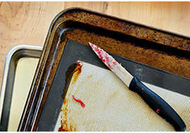 15 Tips and Tricks To Get Your Kitchen Clean Before the Holidays: gallery image 2