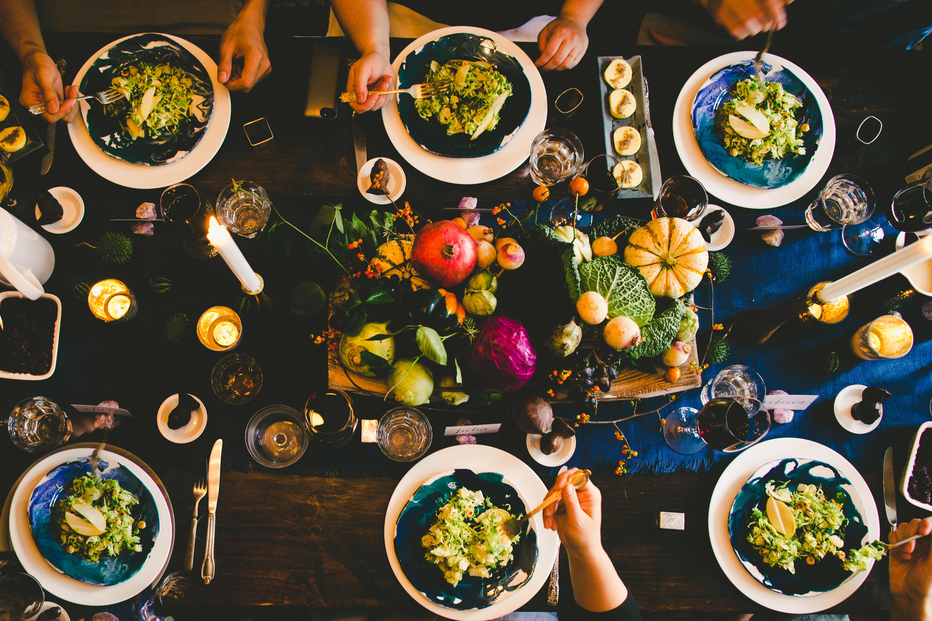 How I Set a Swanky Thanksgiving Table: And 5 Tips for Decorating on a Budget: gallery image 21