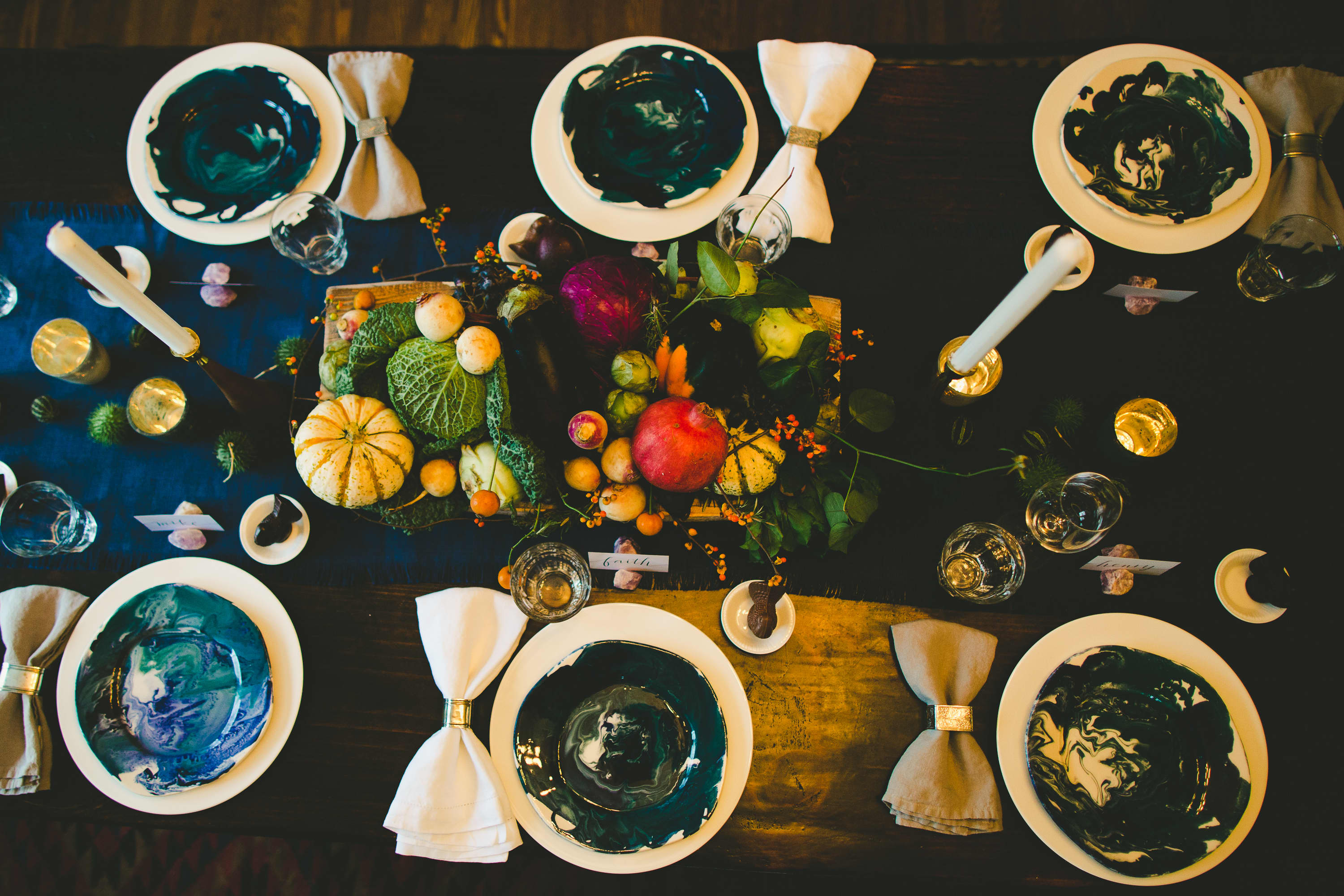 How I Set a Swanky Thanksgiving Table: And 5 Tips for Decorating on a Budget: gallery image 18