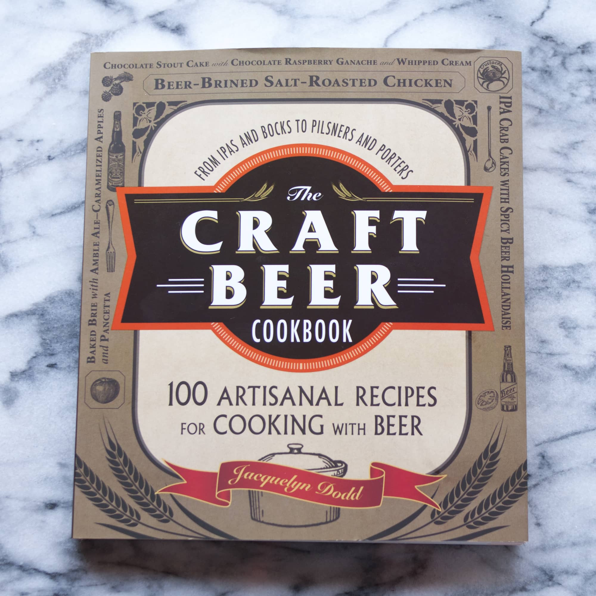 The Craft Beer Cookbook by Jacquelyn Dodd: gallery image 1