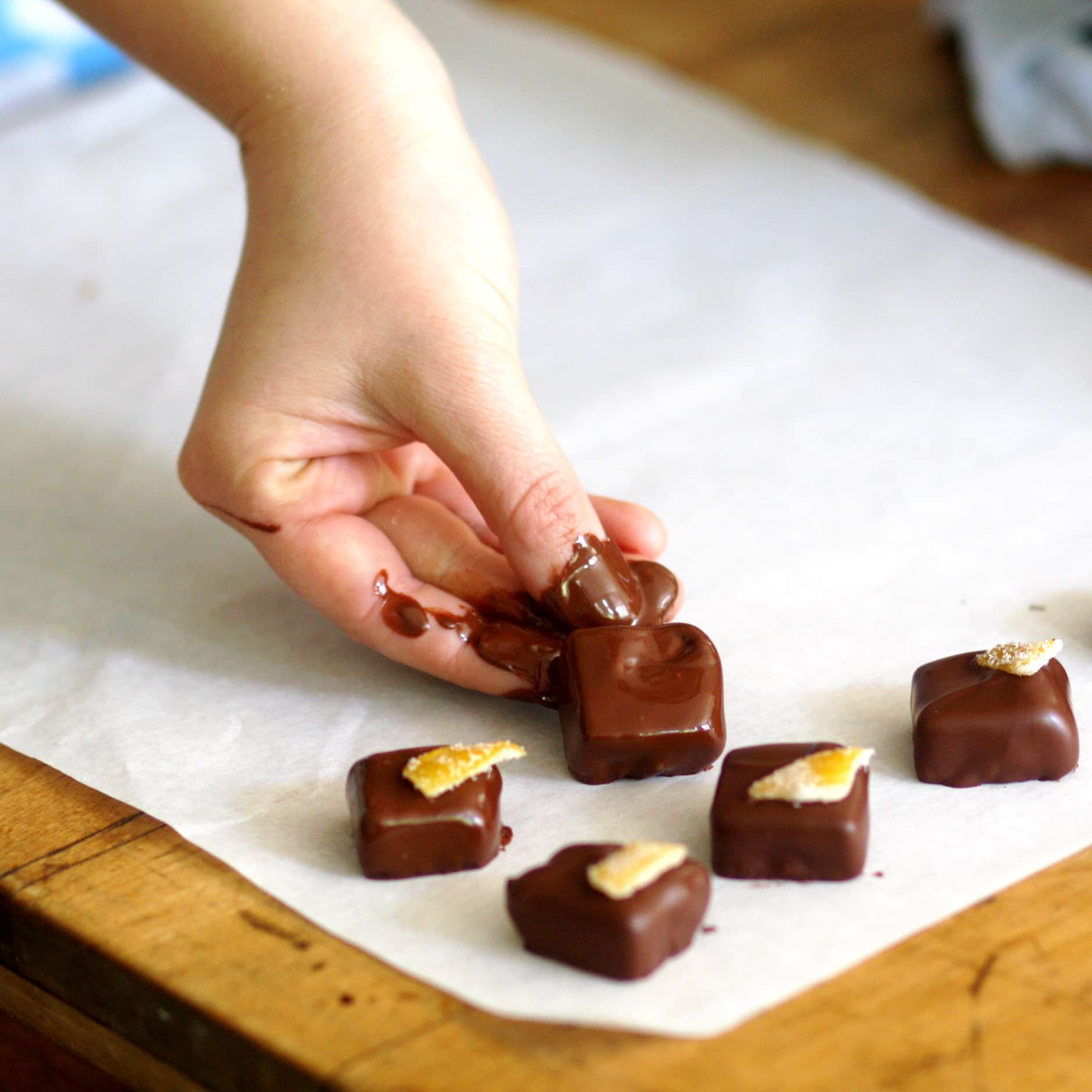 How To Make Hand-Dipped Chocolates: gallery image 15
