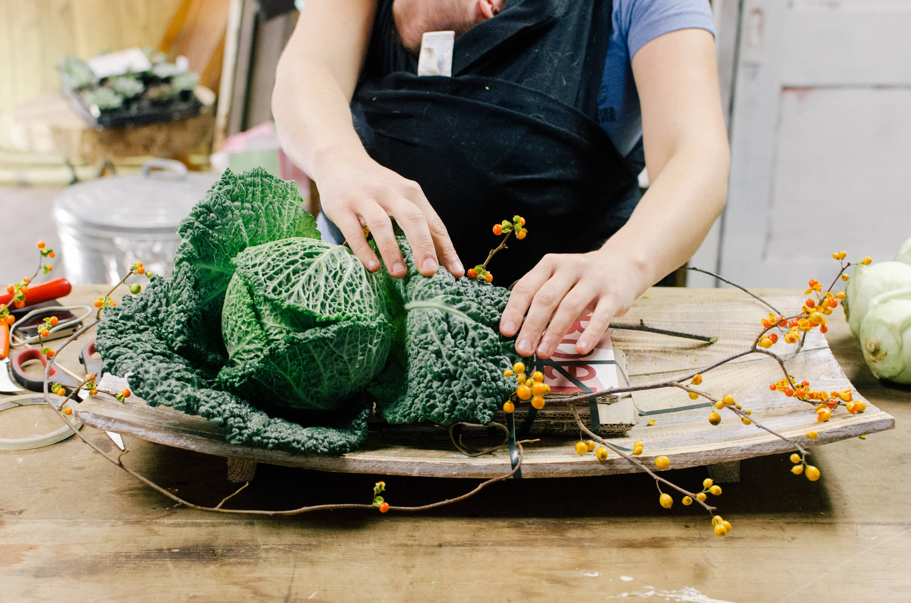 How To Make a Modern Harvest Centerpiece for Thanksgiving: gallery image 9
