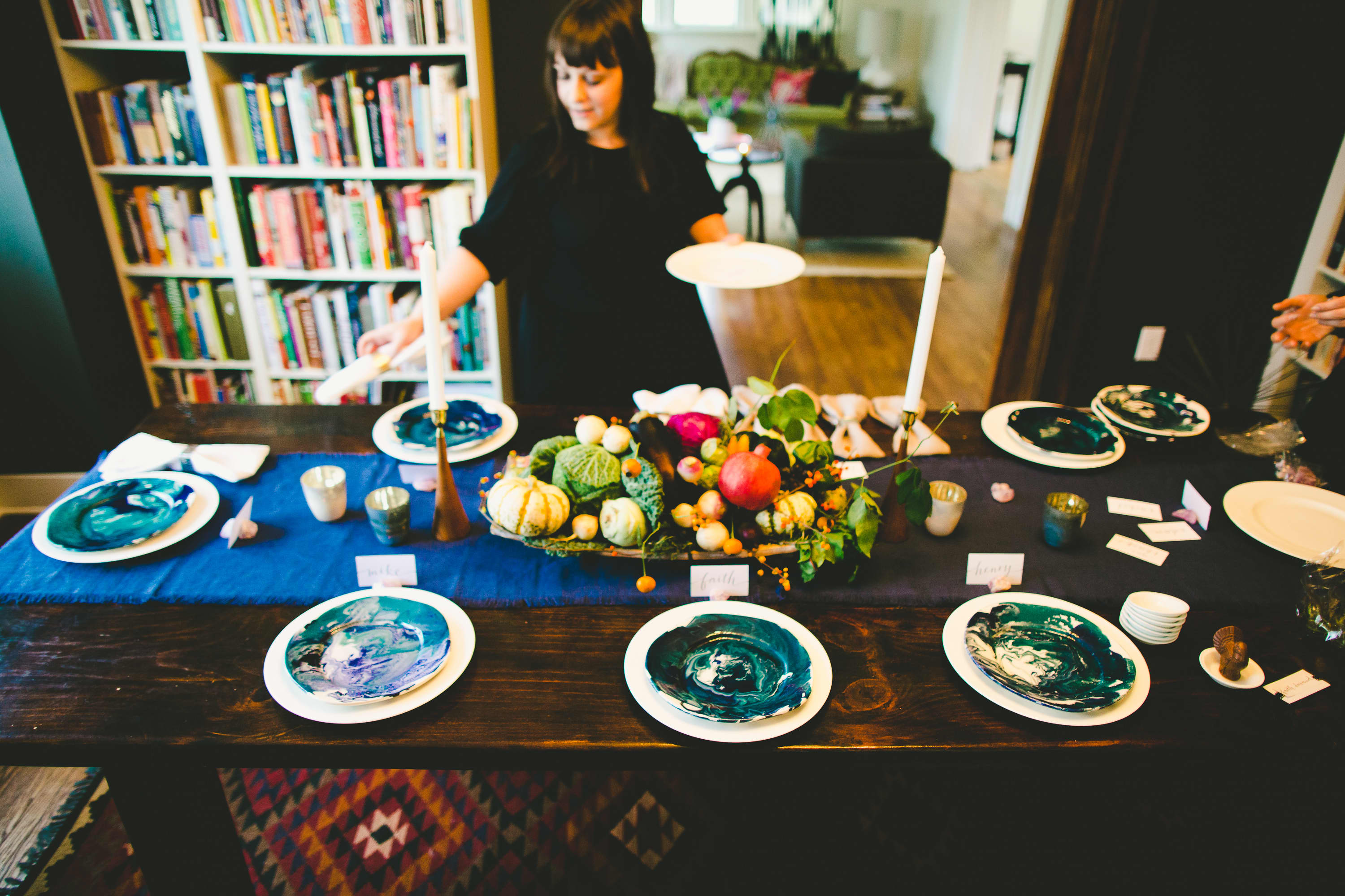 How I Set a Swanky Thanksgiving Table: And 5 Tips for Decorating on a Budget: gallery image 10