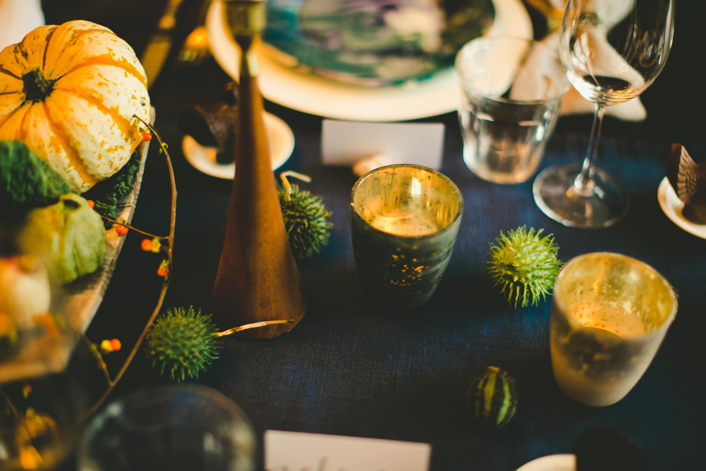 How I Set a Swanky Thanksgiving Table: And 5 Tips for Decorating on a Budget: gallery image 15