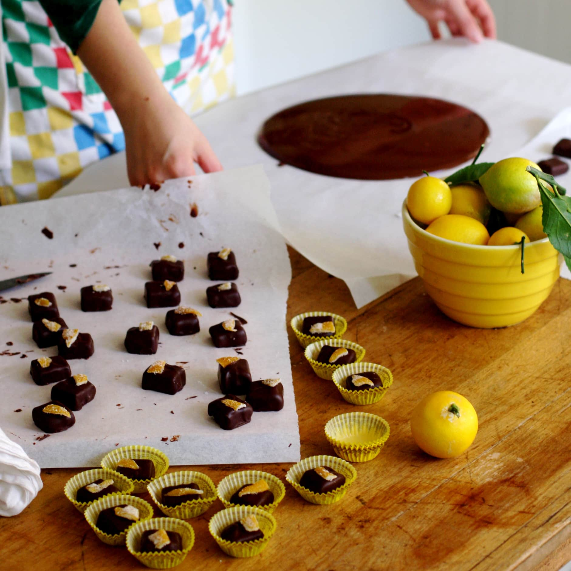 How To Make Hand-Dipped Chocolates: gallery image 18