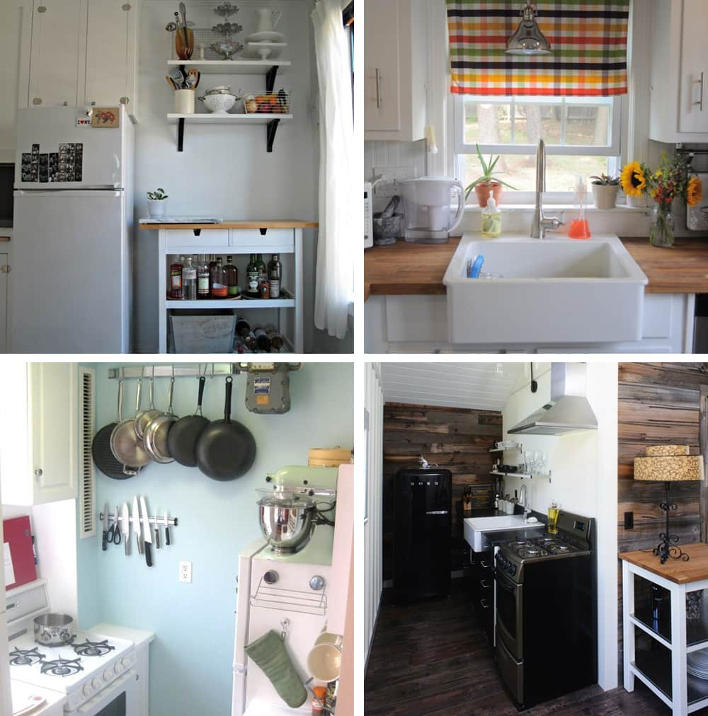 15 Small Space Kitchens, Tips, and Storage Solutions That Inspired Us: gallery image 10