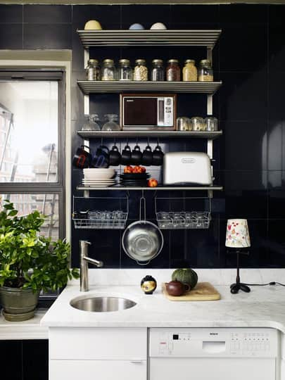 15 Small Space Kitchens, Tips, and Storage Solutions That Inspired Us: gallery image 11