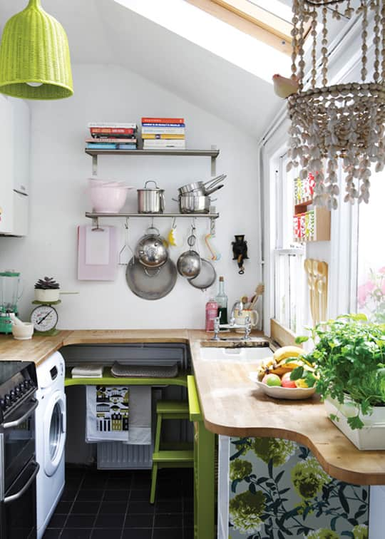 15 Small Space Kitchens, Tips, and Storage Solutions That Inspired Us: gallery image 7