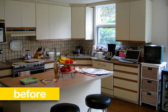 20 Dramatic Kitchen Before & After Transformations: gallery image 1