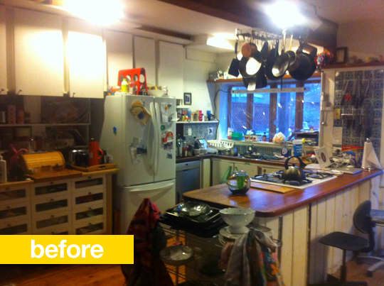 20 Dramatic Kitchen Before & After Transformations: gallery image 9