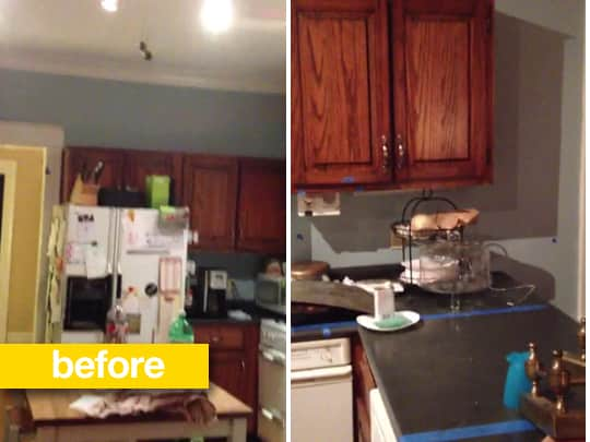 20 Dramatic Kitchen Before & After Transformations: gallery image 4