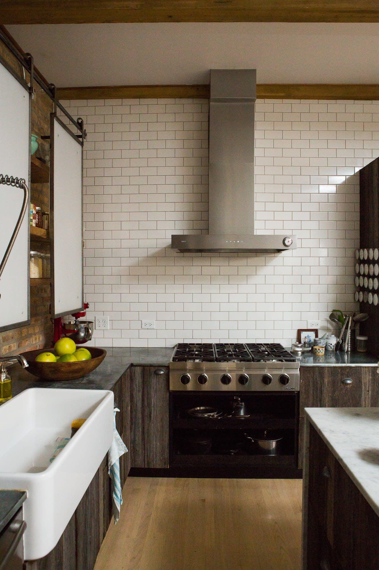 Ellen & Greg's Renovated Loft Kitchen: gallery image 12