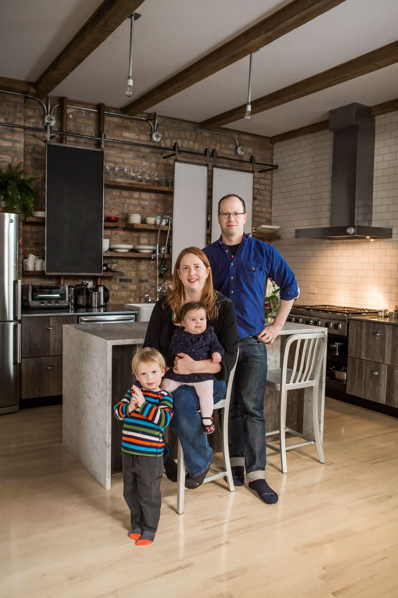 Ellen & Greg's Renovated Loft Kitchen: gallery image 1