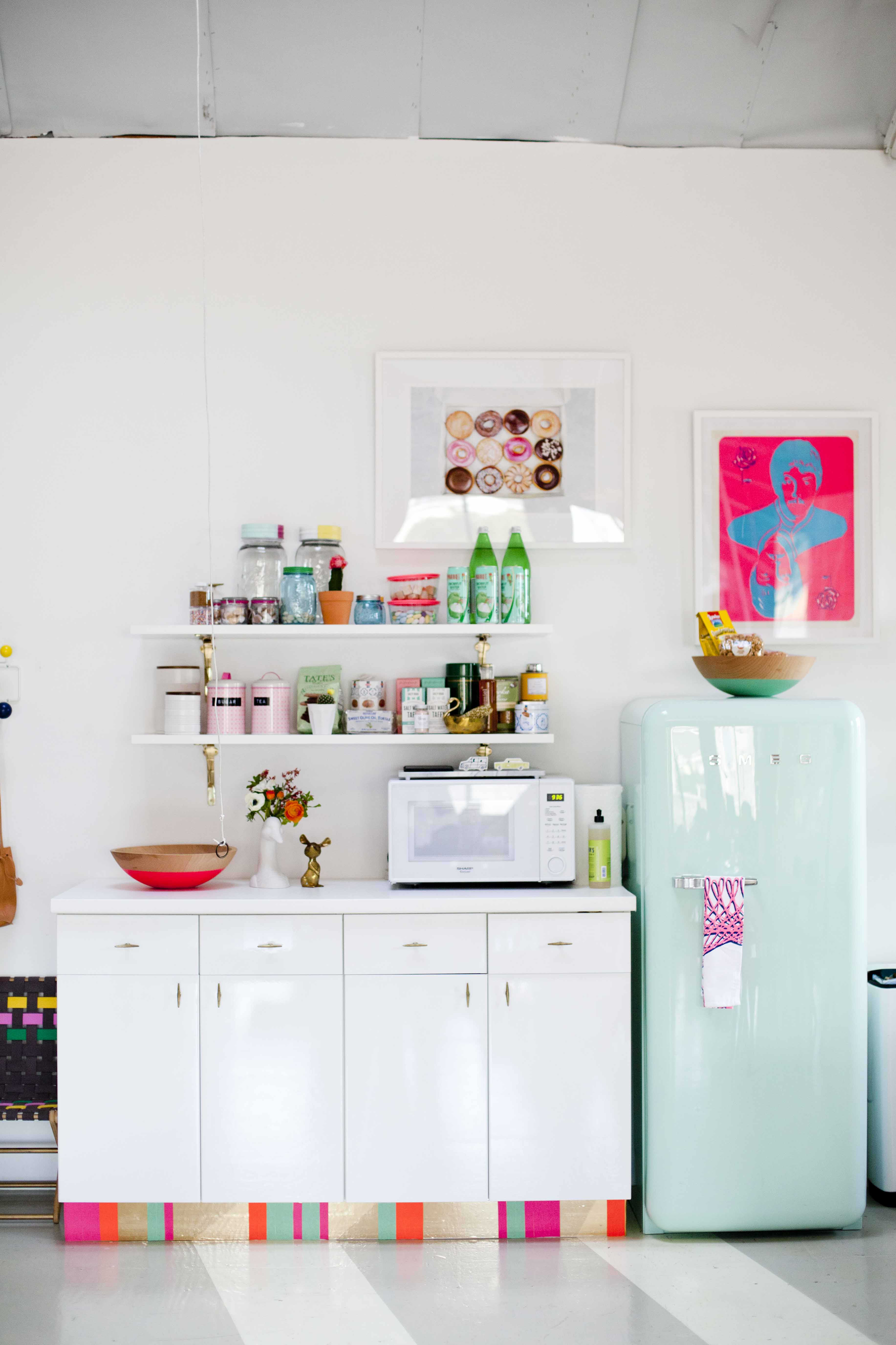 Joy Cho's Grown-Up Candyland Kitchenette: gallery image 1