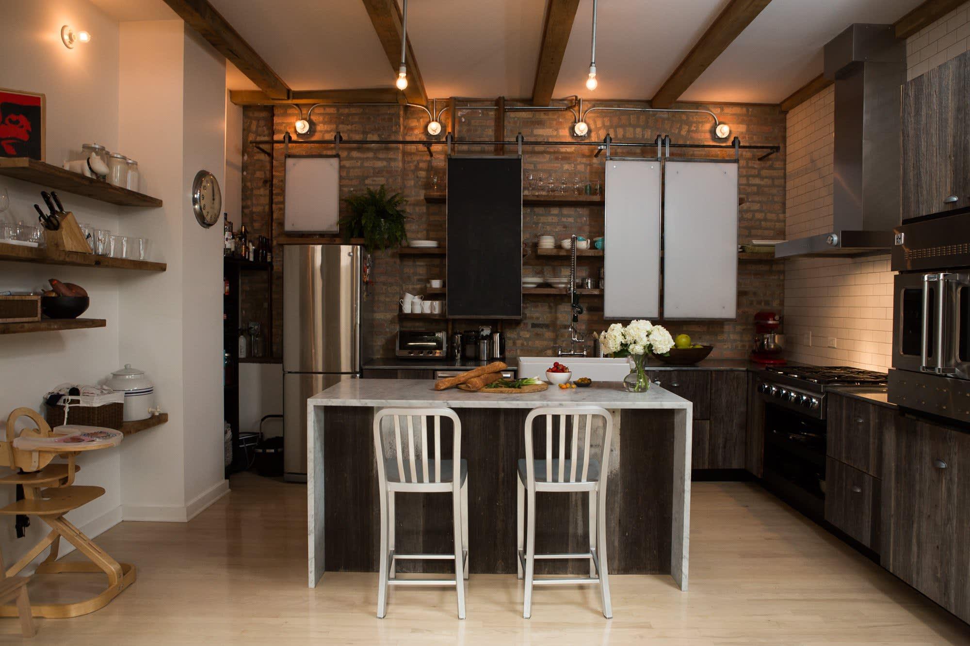 Ellen & Greg's Renovated Loft Kitchen: gallery image 2