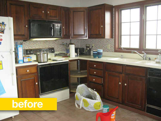 20 Dramatic Kitchen Before & After Transformations: gallery image 20