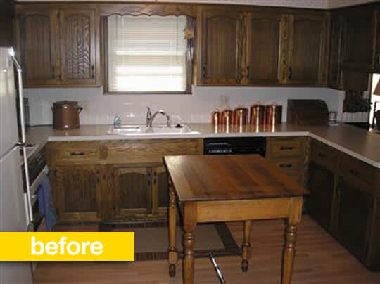 20 Dramatic Kitchen Before & After Transformations: gallery image 8
