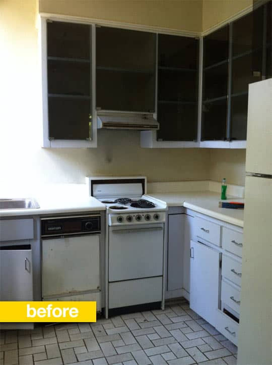 20 Dramatic Kitchen Before & After Transformations: gallery image 5