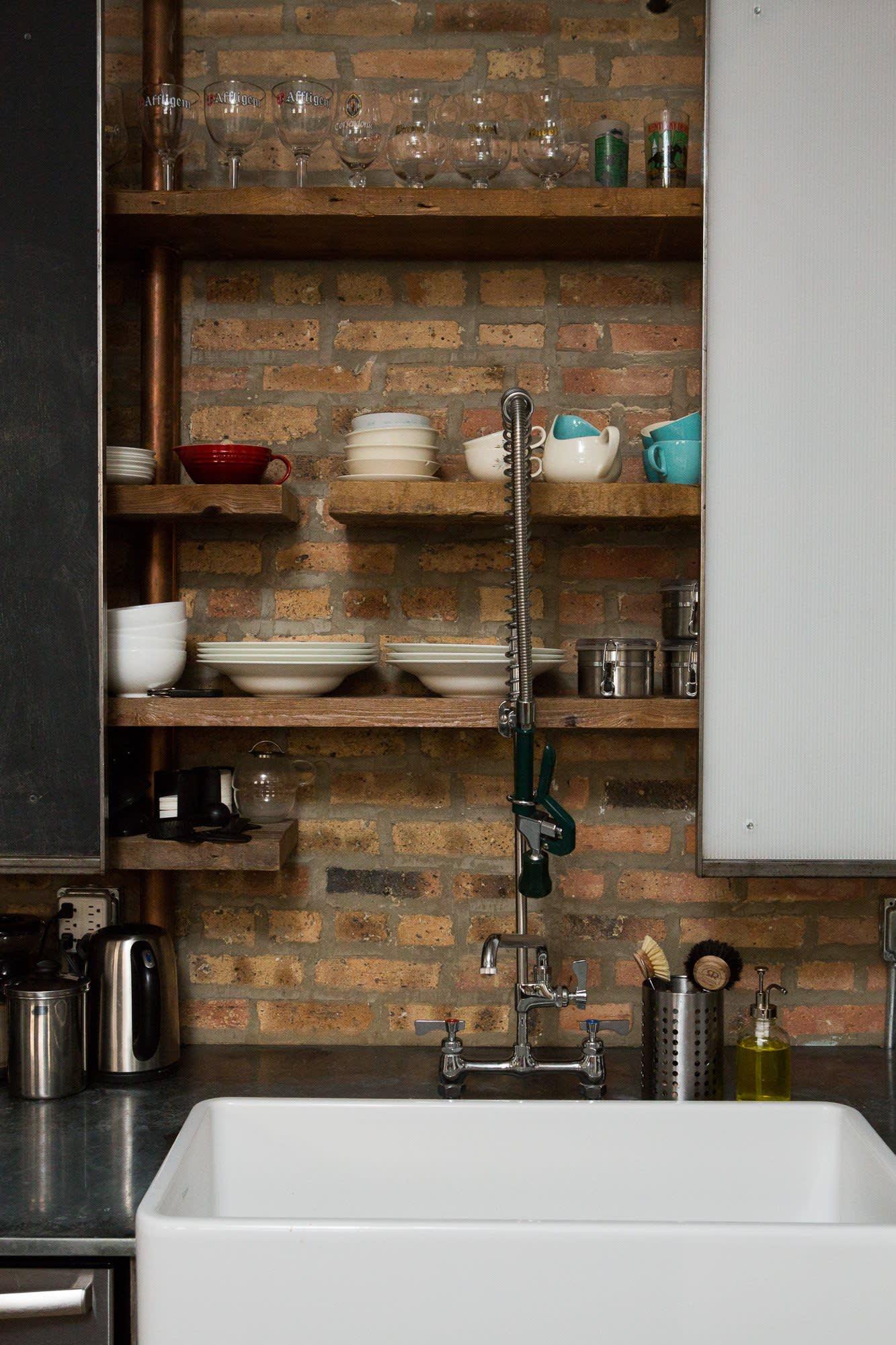 Ellen & Greg's Renovated Loft Kitchen: gallery image 4