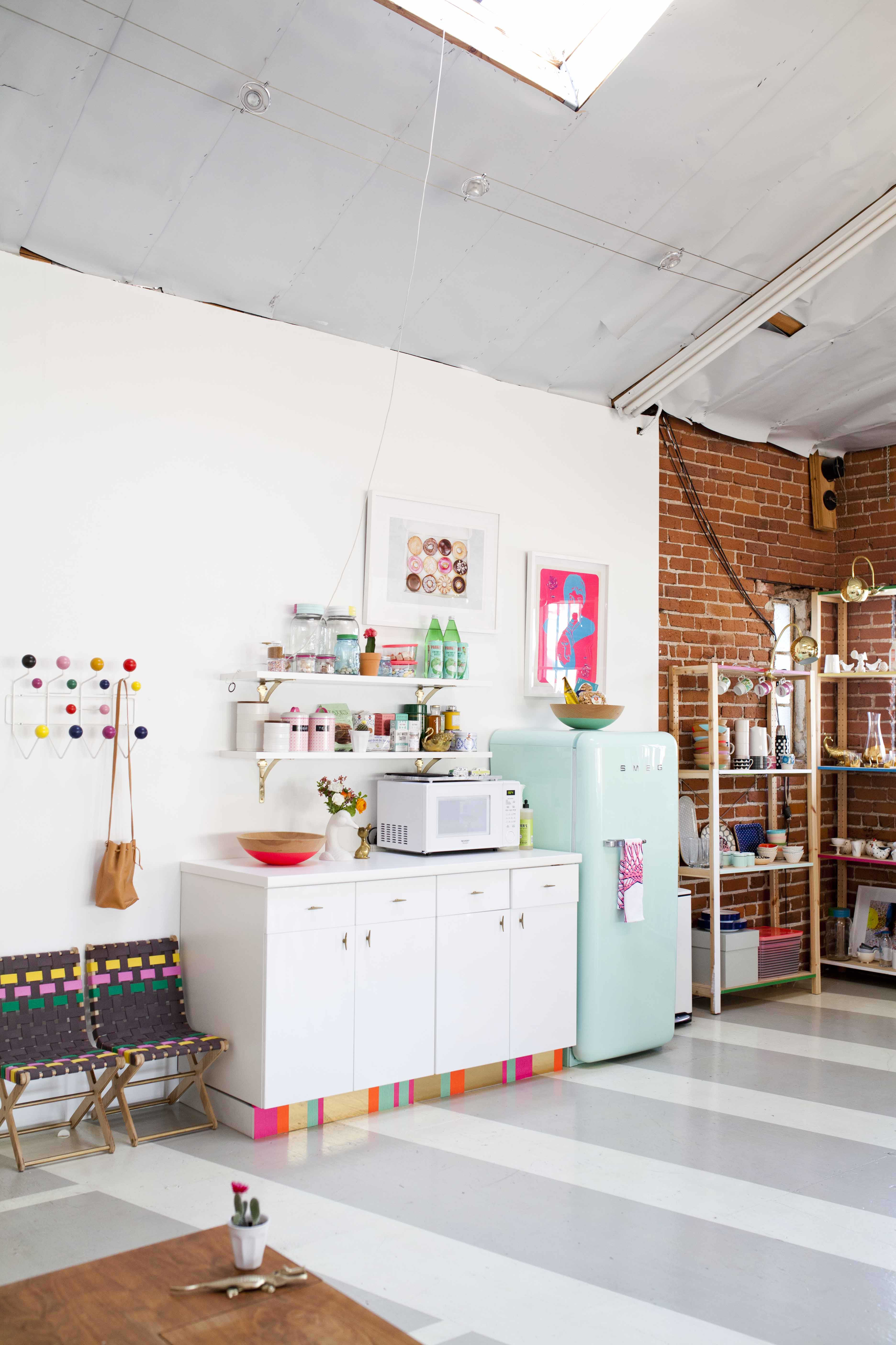 Joy Cho's Grown-Up Candyland Kitchenette: gallery image 2