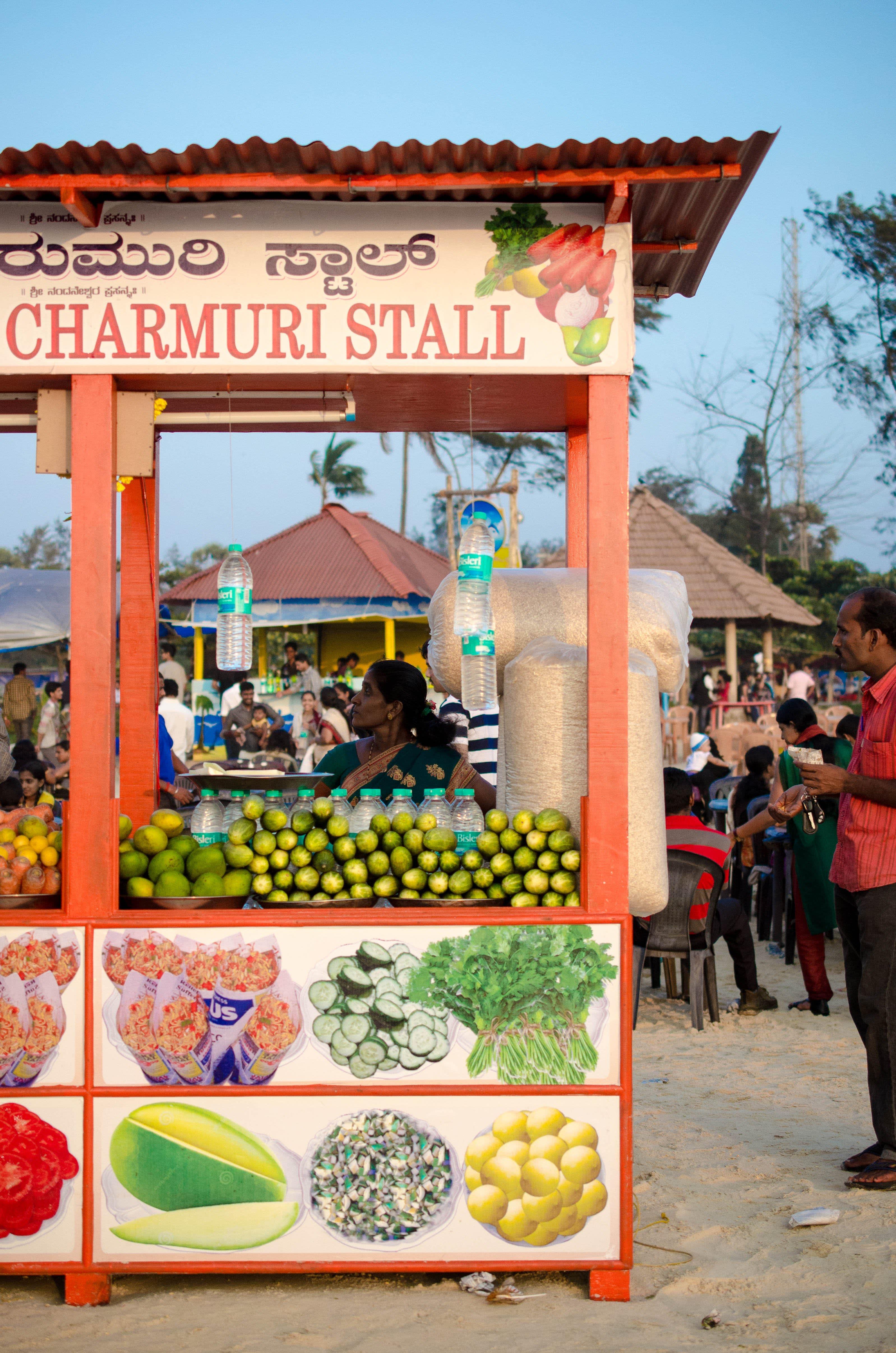Charmuri Stall
