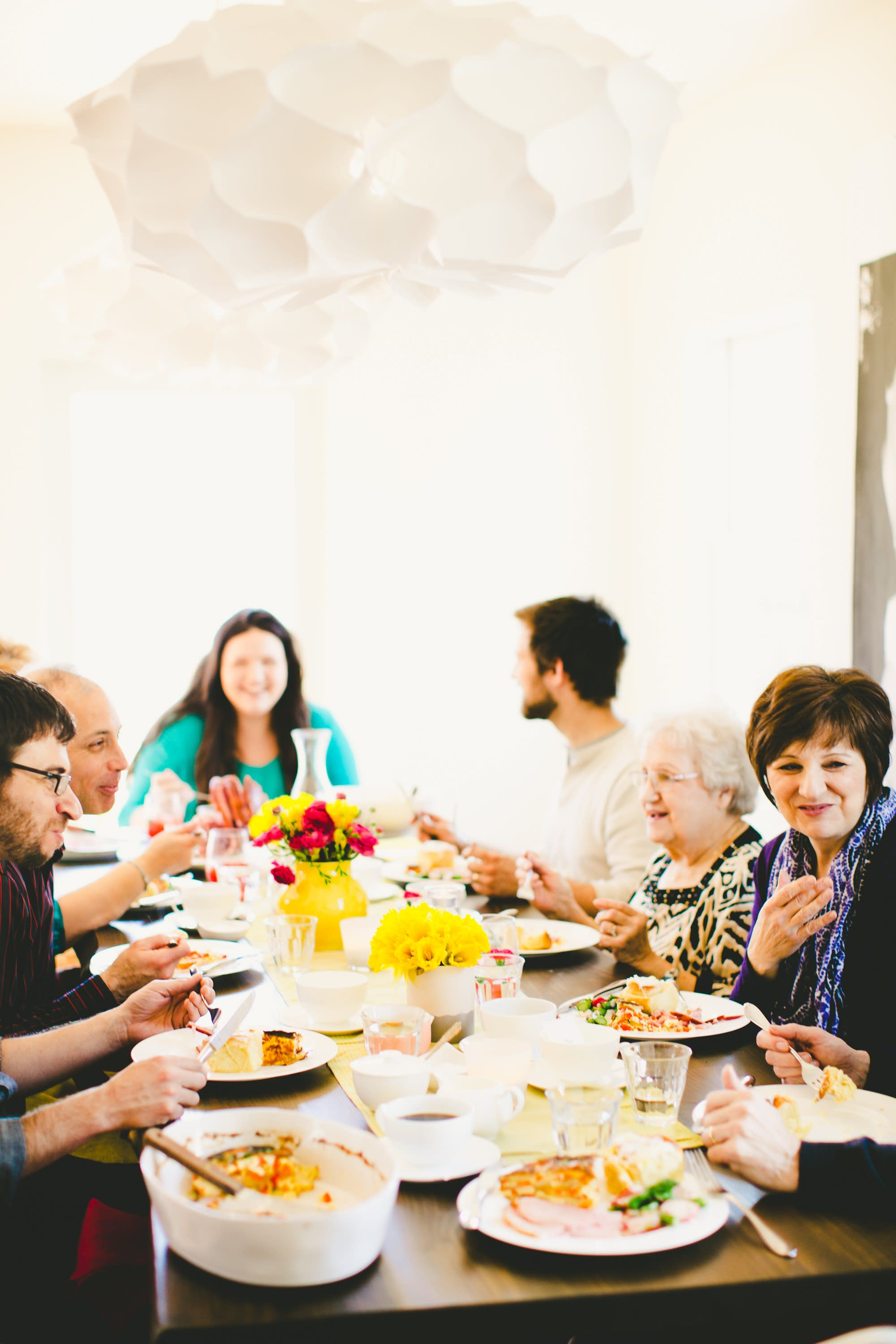 A Bright & Colorful Mother's Day Brunch: gallery image 38