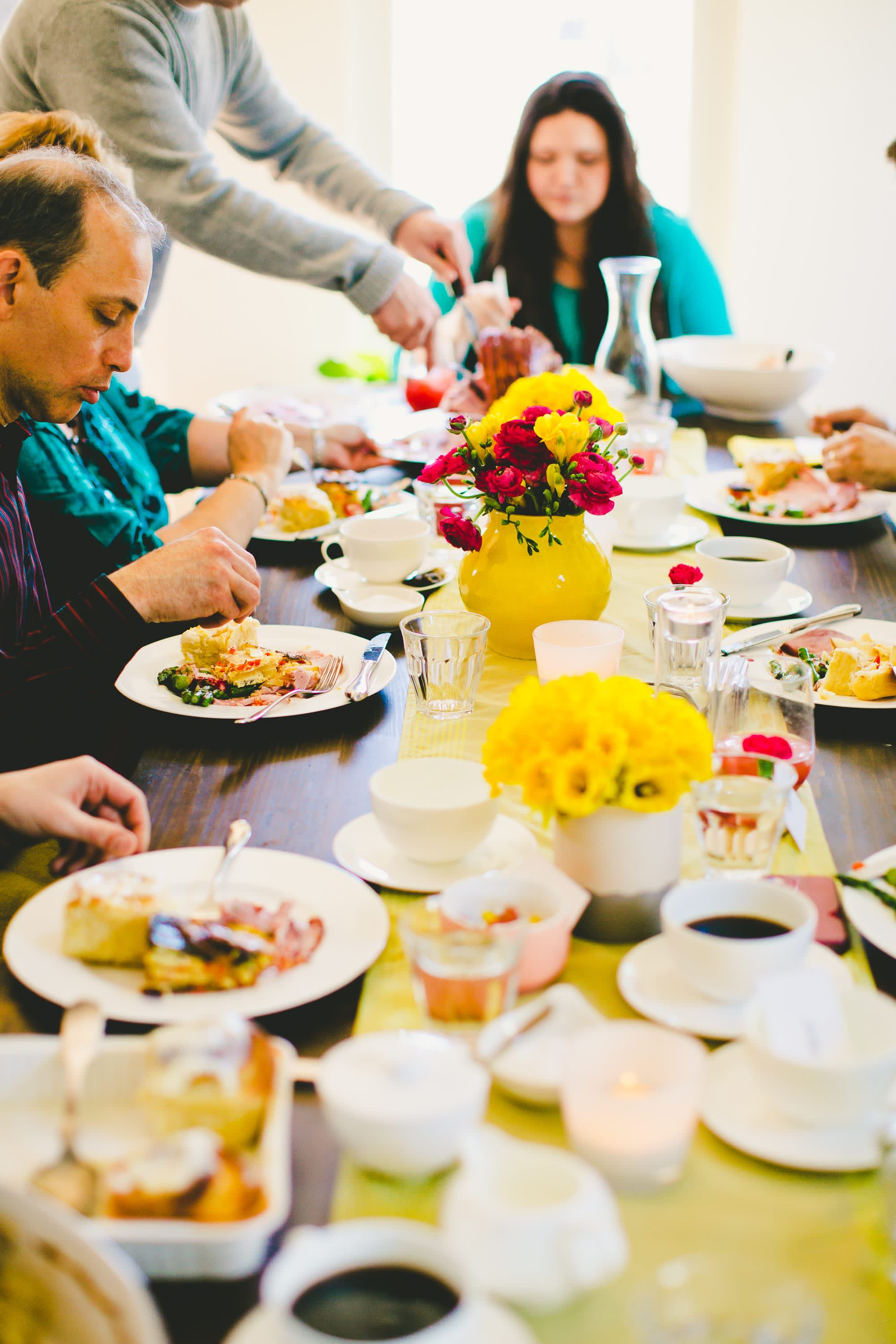 A Bright & Colorful Mother's Day Brunch: gallery image 44