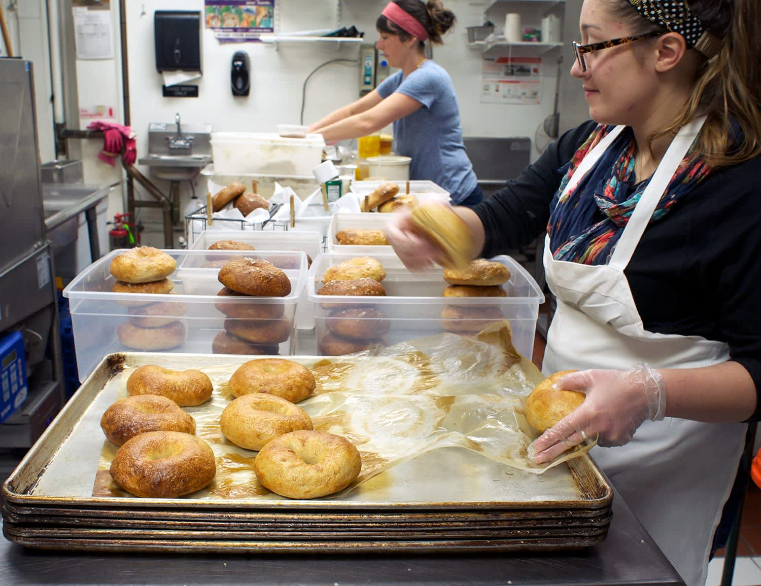 How Mary Ting Hyatt of Bagelsaurus Makes the Best Bagels in Boston: gallery image 30