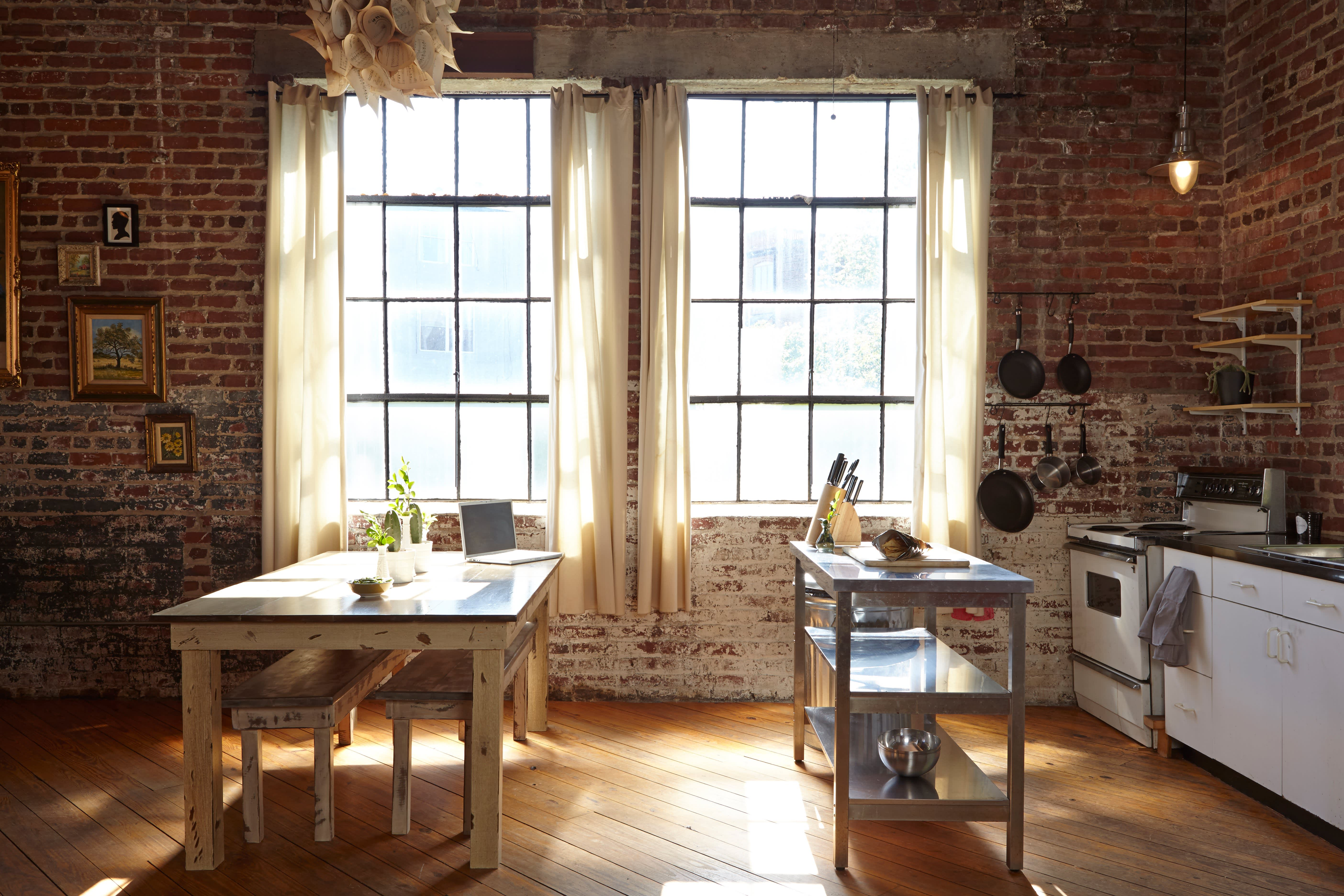 Julia's Open, Antique-Industrial Atlanta Kitchen: gallery image 14