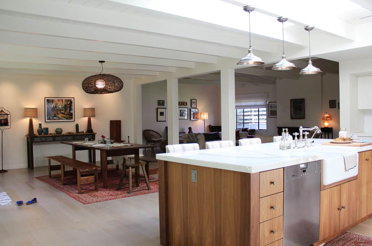Ideal For Entertaining 10 Open Kitchens That Flow Into Dining Rooms