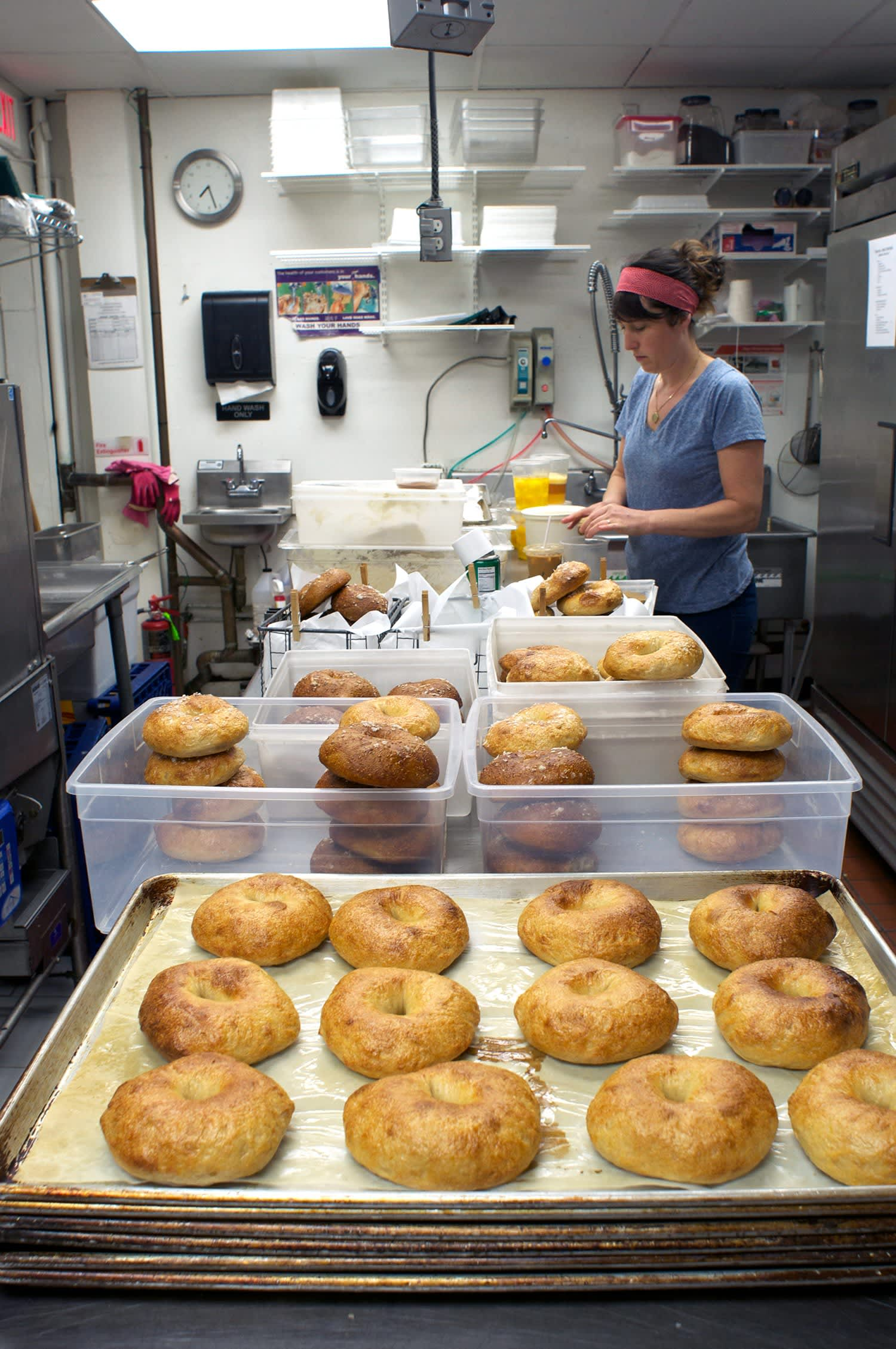 How Mary Ting Hyatt of Bagelsaurus Makes the Best Bagels in Boston: gallery image 31