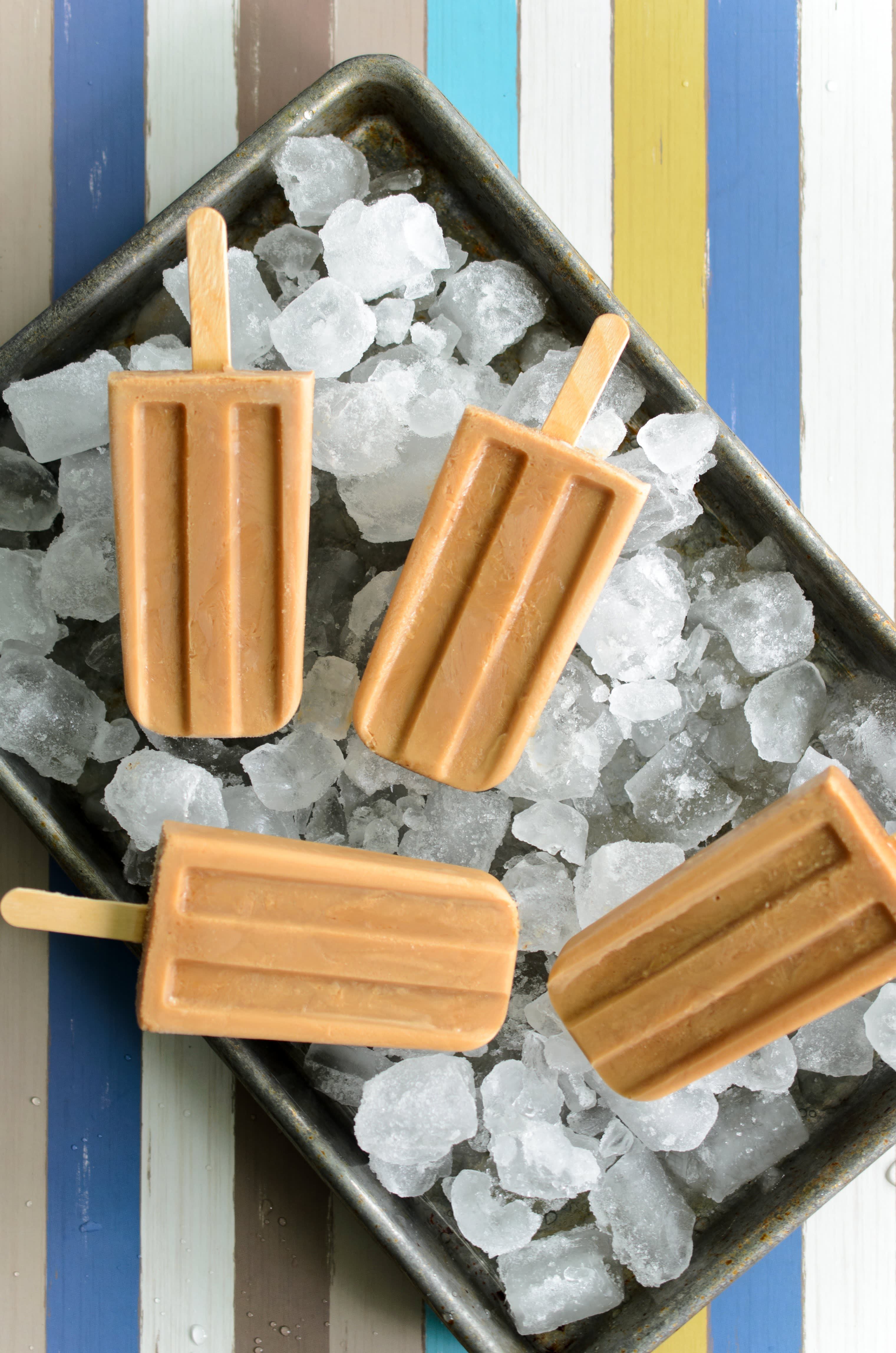 Masala chai creamsicles or popsicles