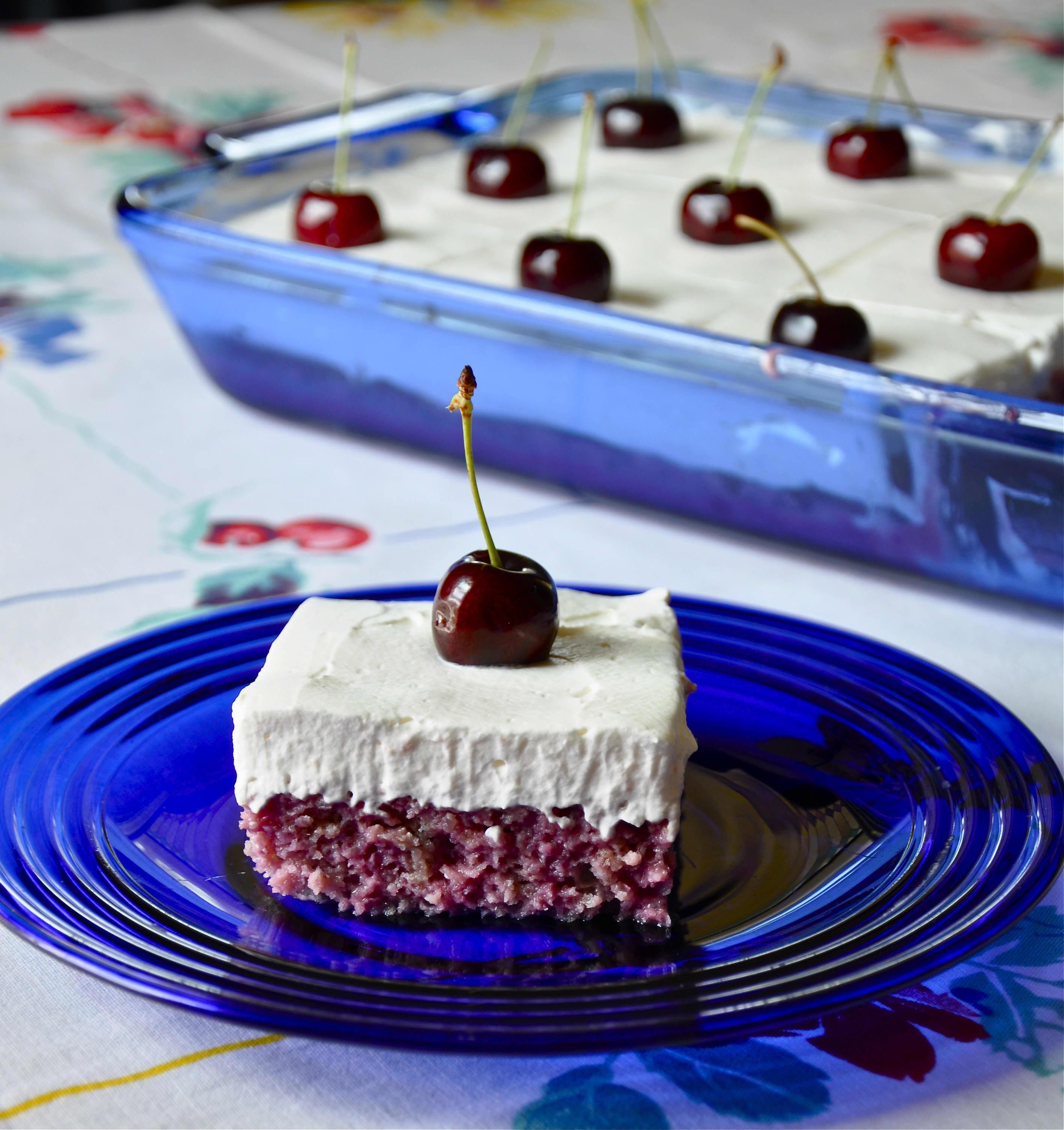 Recipe: Cherry-Almond Poke Cake