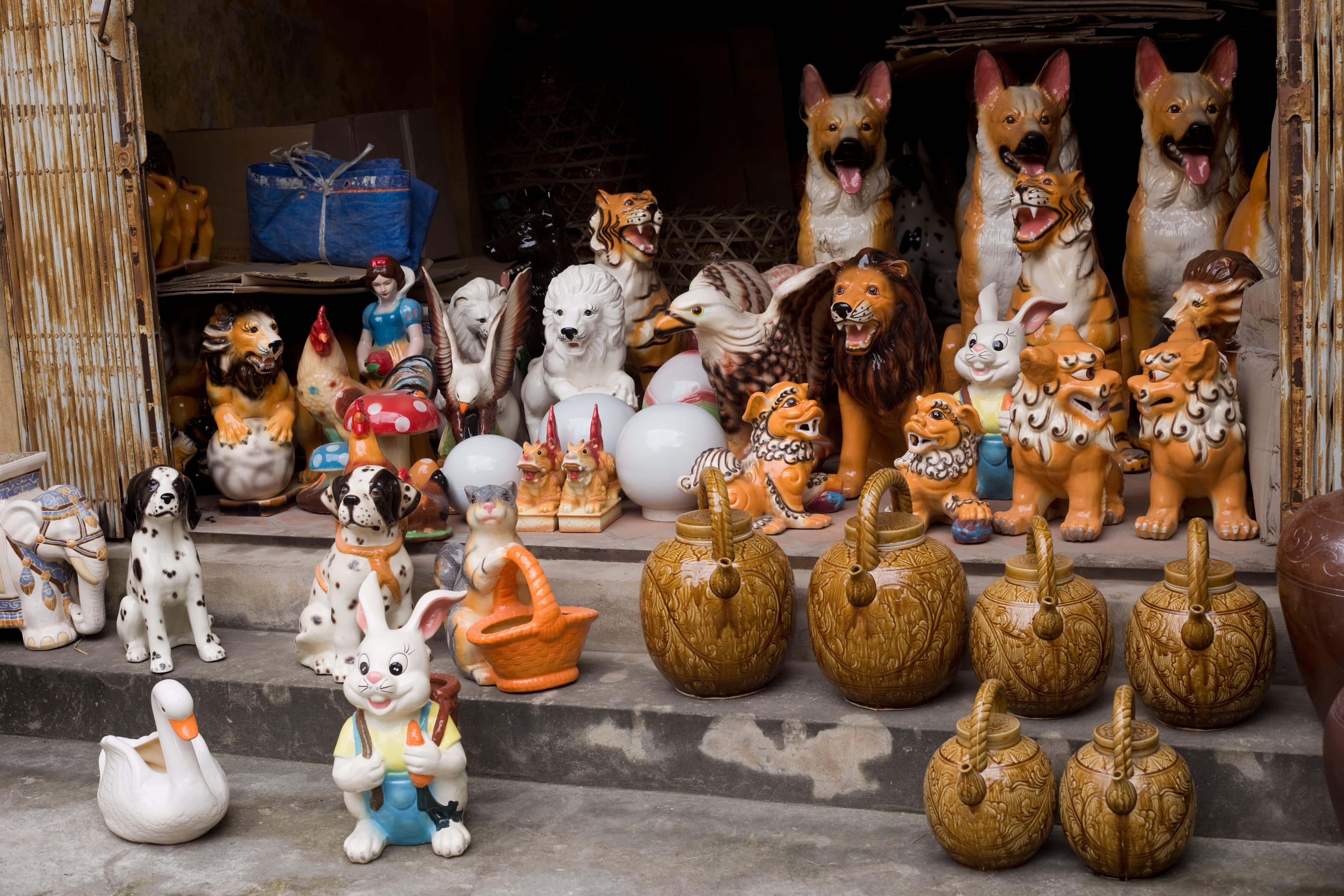 Visit the Ancient Village of Bat Trang, Vietnam, Where Everyone Makes Pottery: gallery image 8