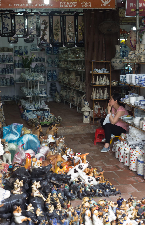 Visit the Ancient Village of Bat Trang, Vietnam, Where Everyone Makes Pottery: gallery image 3