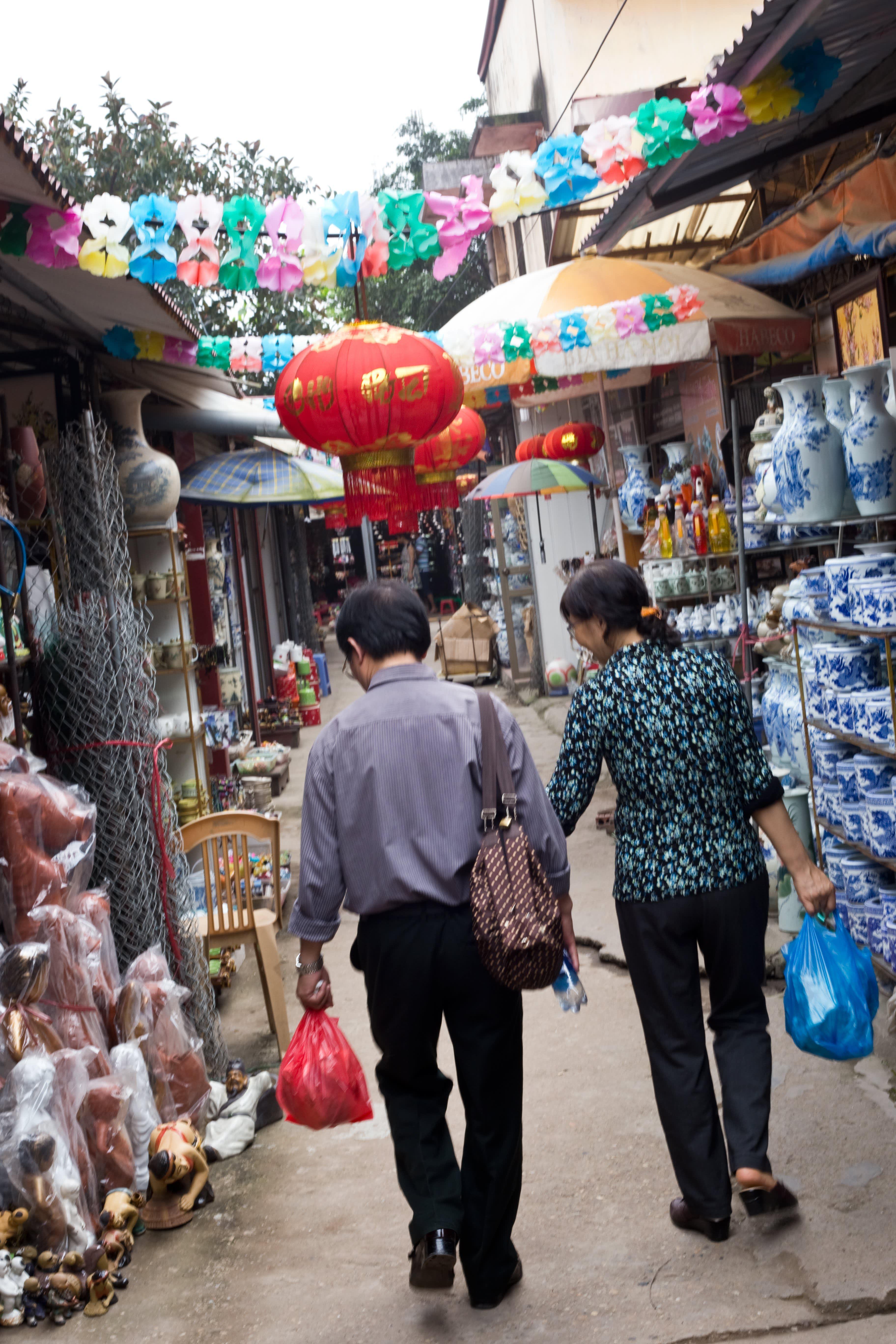 Visit the Ancient Village of Bat Trang, Vietnam, Where Everyone Makes Pottery: gallery image 1