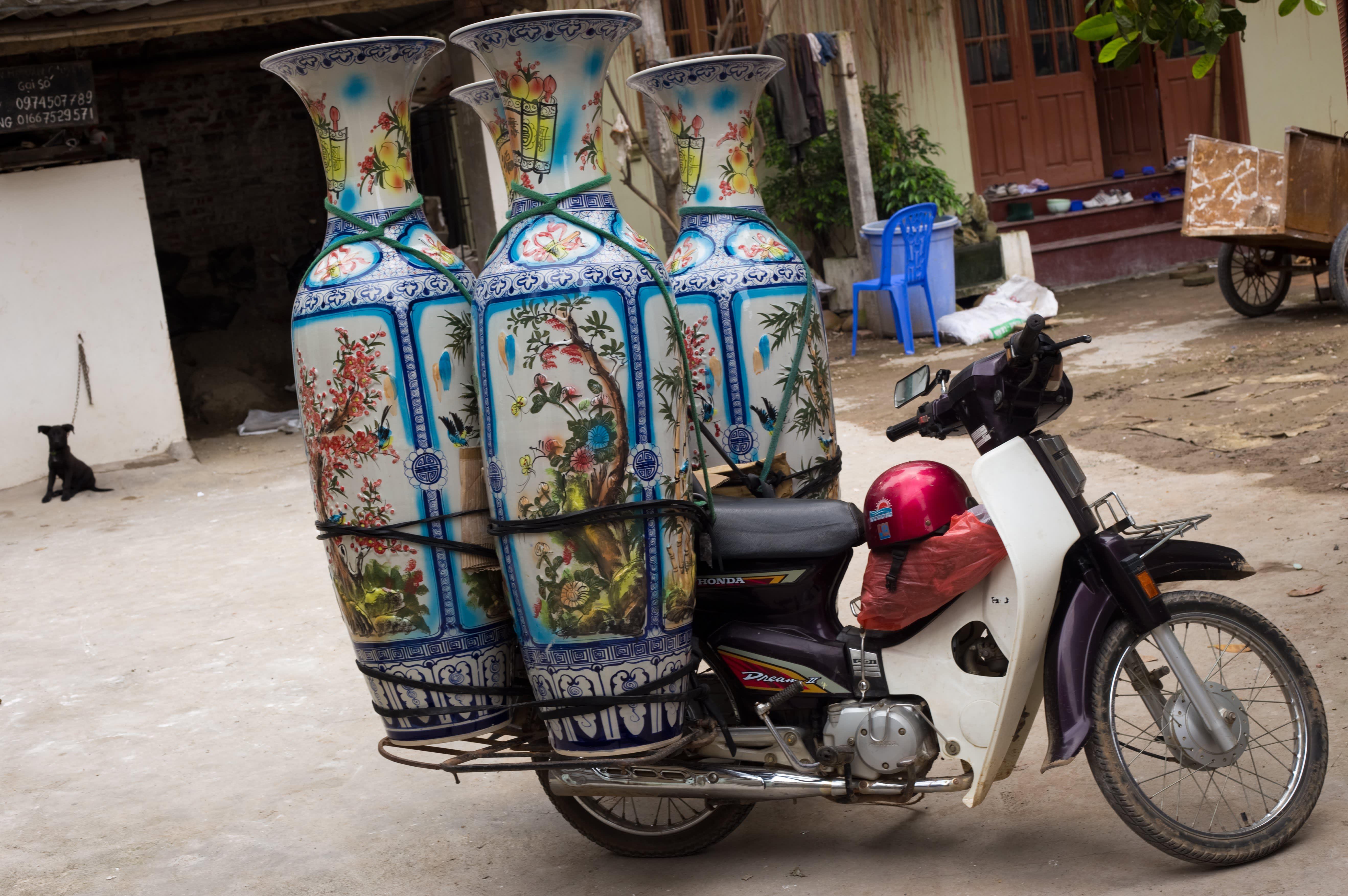 Visit the Ancient Village of Bat Trang, Vietnam, Where Everyone Makes Pottery: gallery image 10