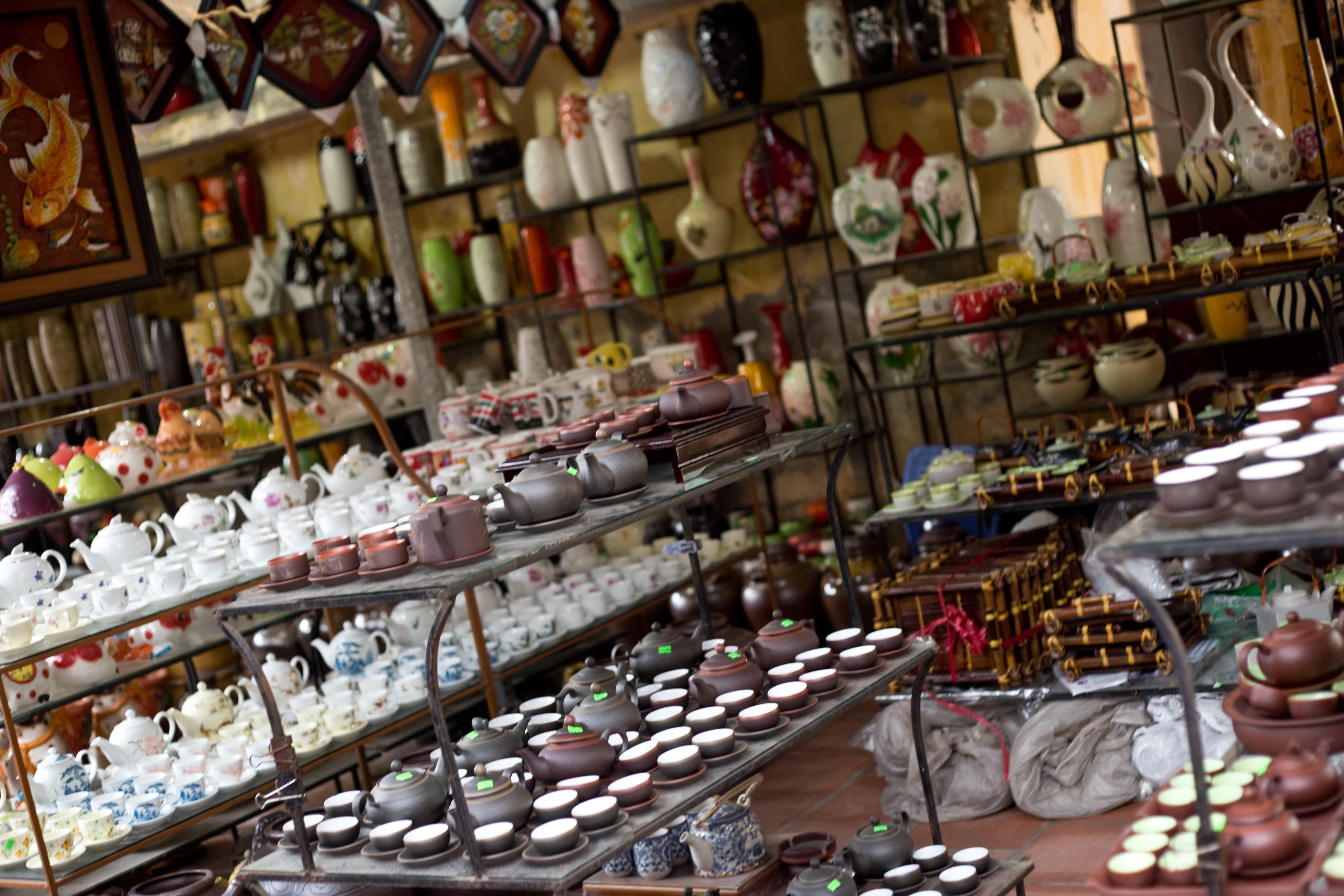 Visit the Ancient Village of Bat Trang, Vietnam, Where Everyone Makes Pottery: gallery image 2